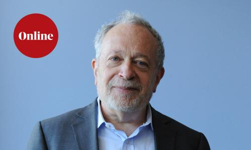Professor Robert Reich photographed in Washington, DC, USA on March 13, 2014. Reich was Secretary of Labor during the first Clinton administration.