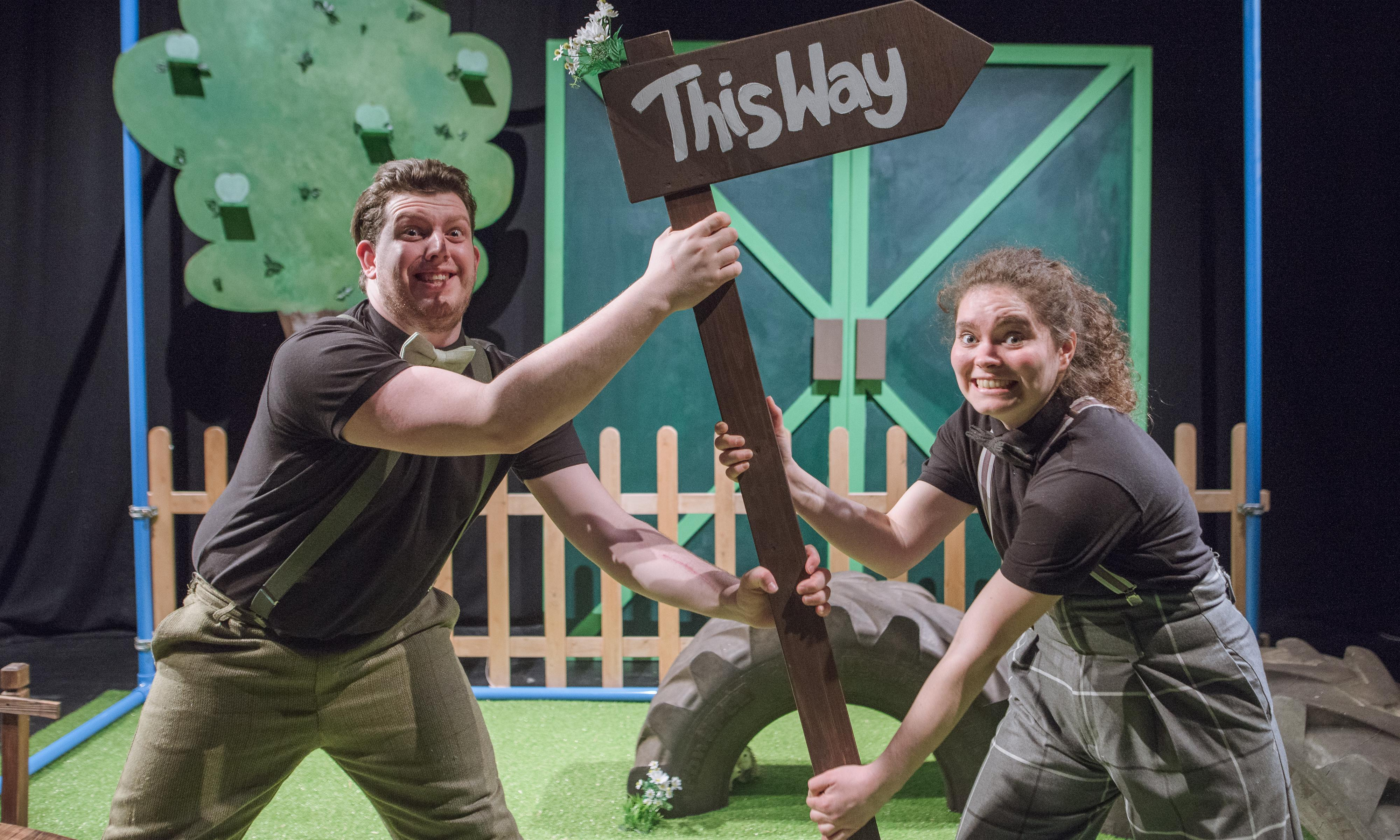 Theatre's role models for deaf children: 'they need to think anything is possible'