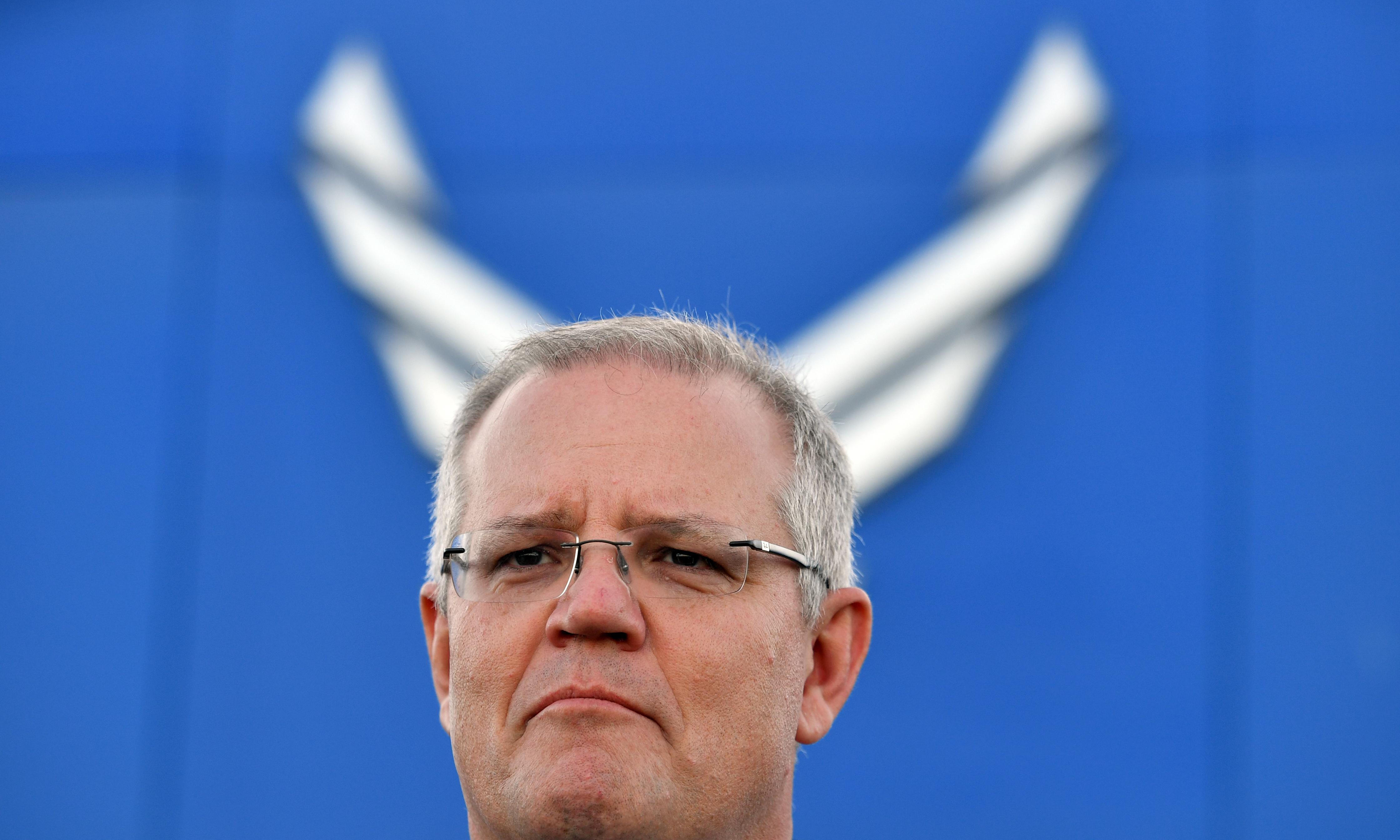 Scott Morrison lands in US promising 'another 100 years' of friendship