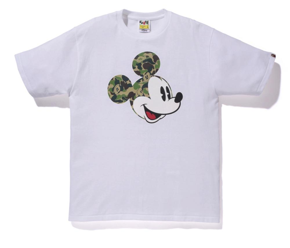 Bathing Ape does camo Mickey.