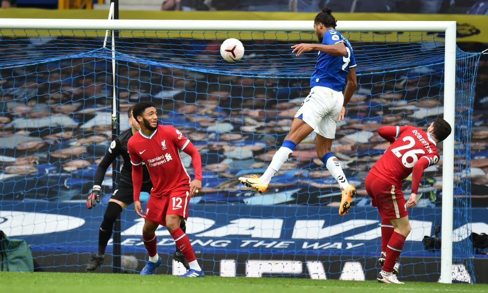 Dominic Calvert-Lewin scores Everton's second equaliser