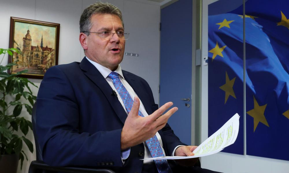 The EU's Maroš Šefčovič