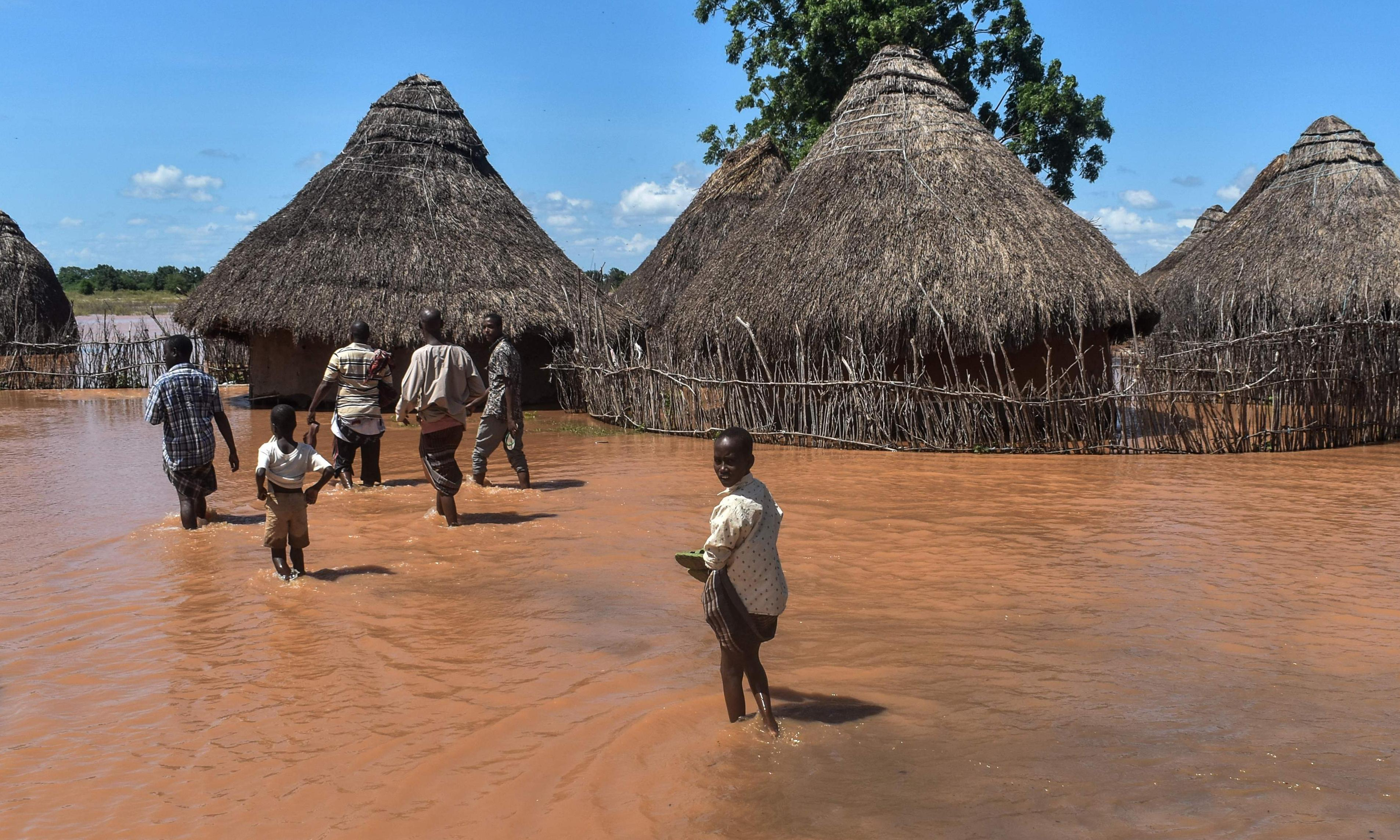 Global heating to inflict more droughts on Africa as well as floods