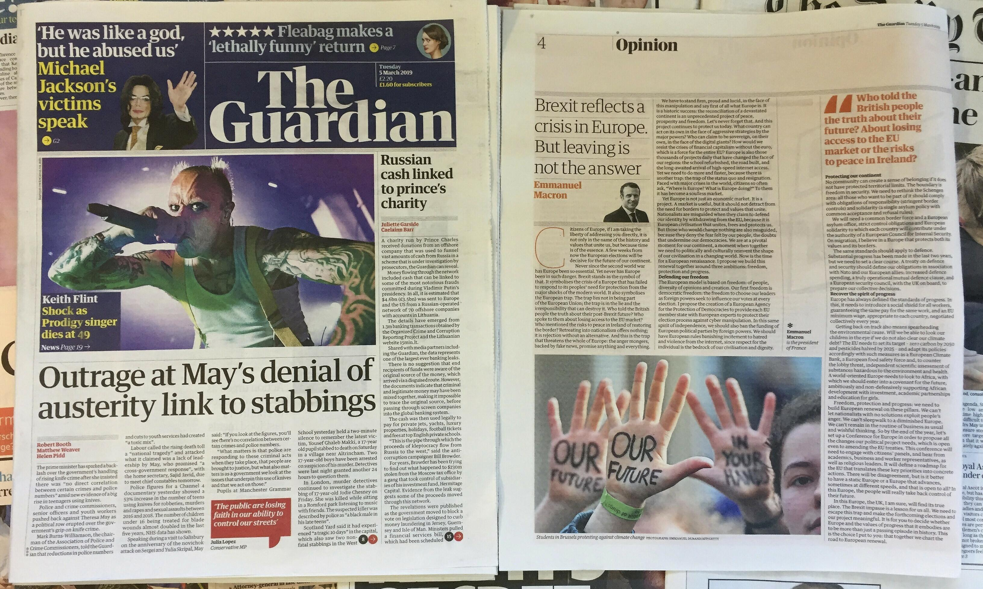 The Guardian's duty to inspire, amuse and anger