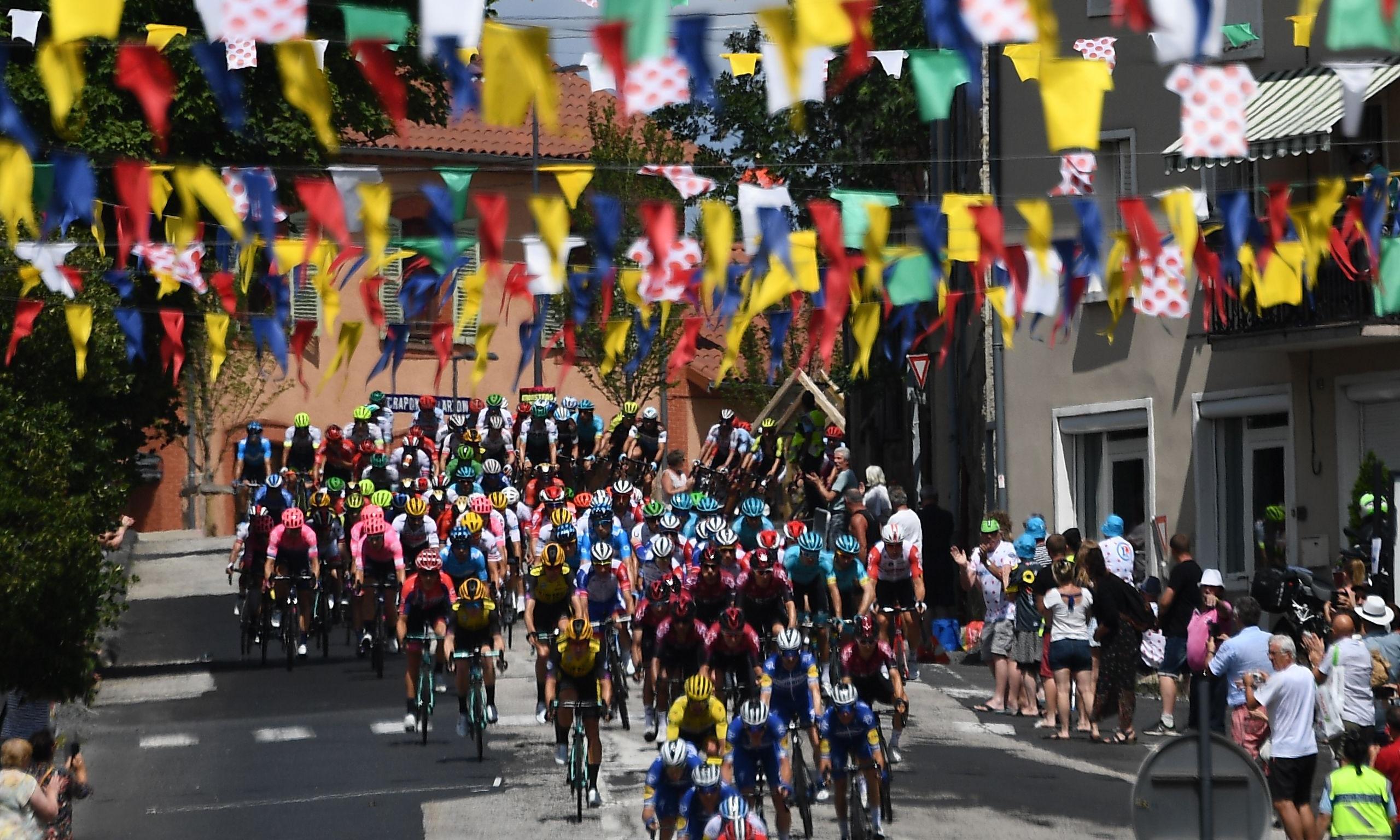 Tour de France diary: Geraint Thomas struggles and seduction in Brioude