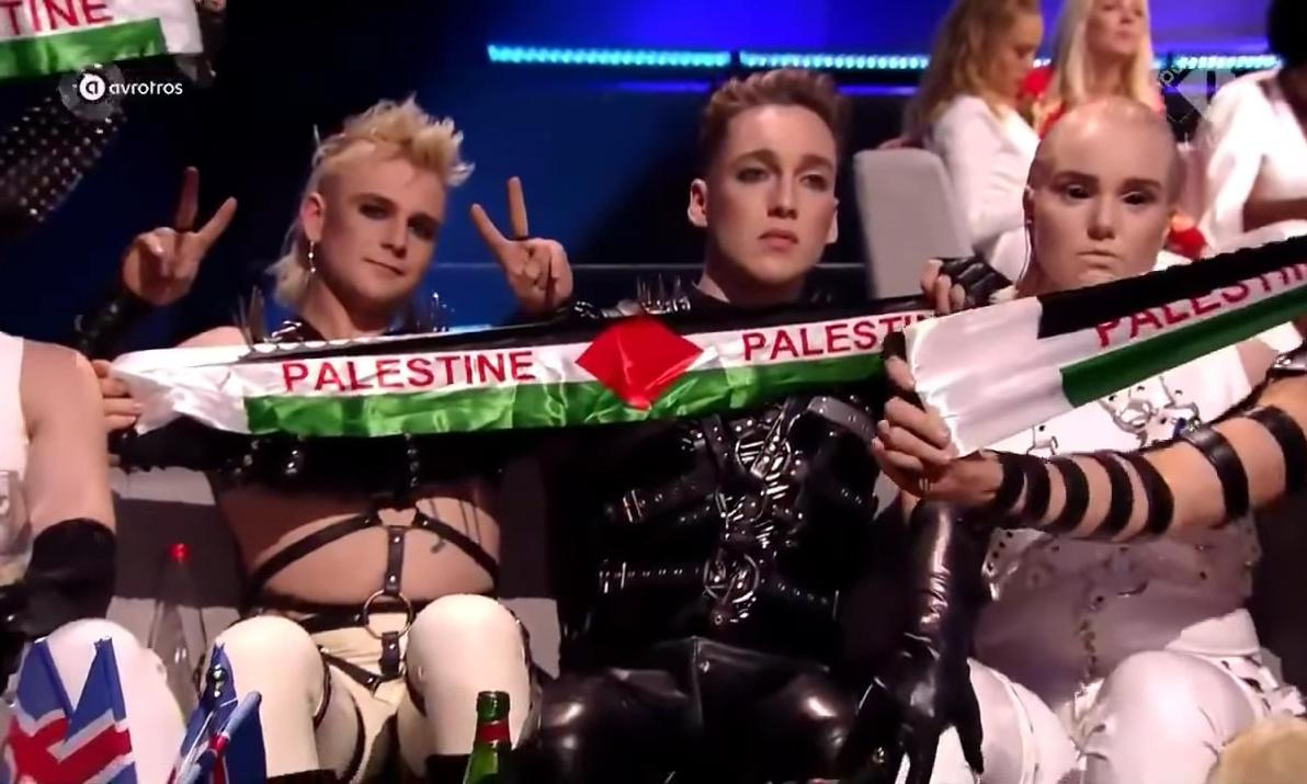 There should be nothing wrong in waving Palestinian flags at Eurovision