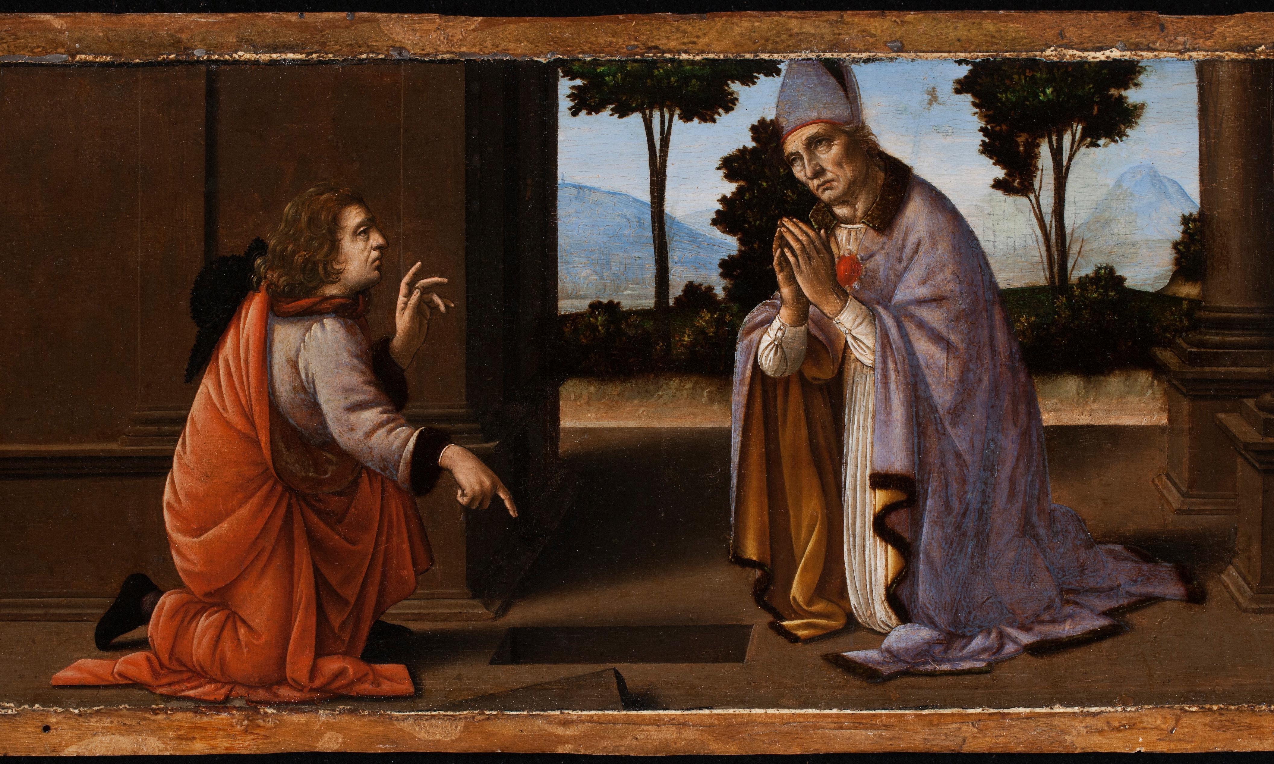 Revealed: 'perfectly realised' early work by Leonardo da Vinci