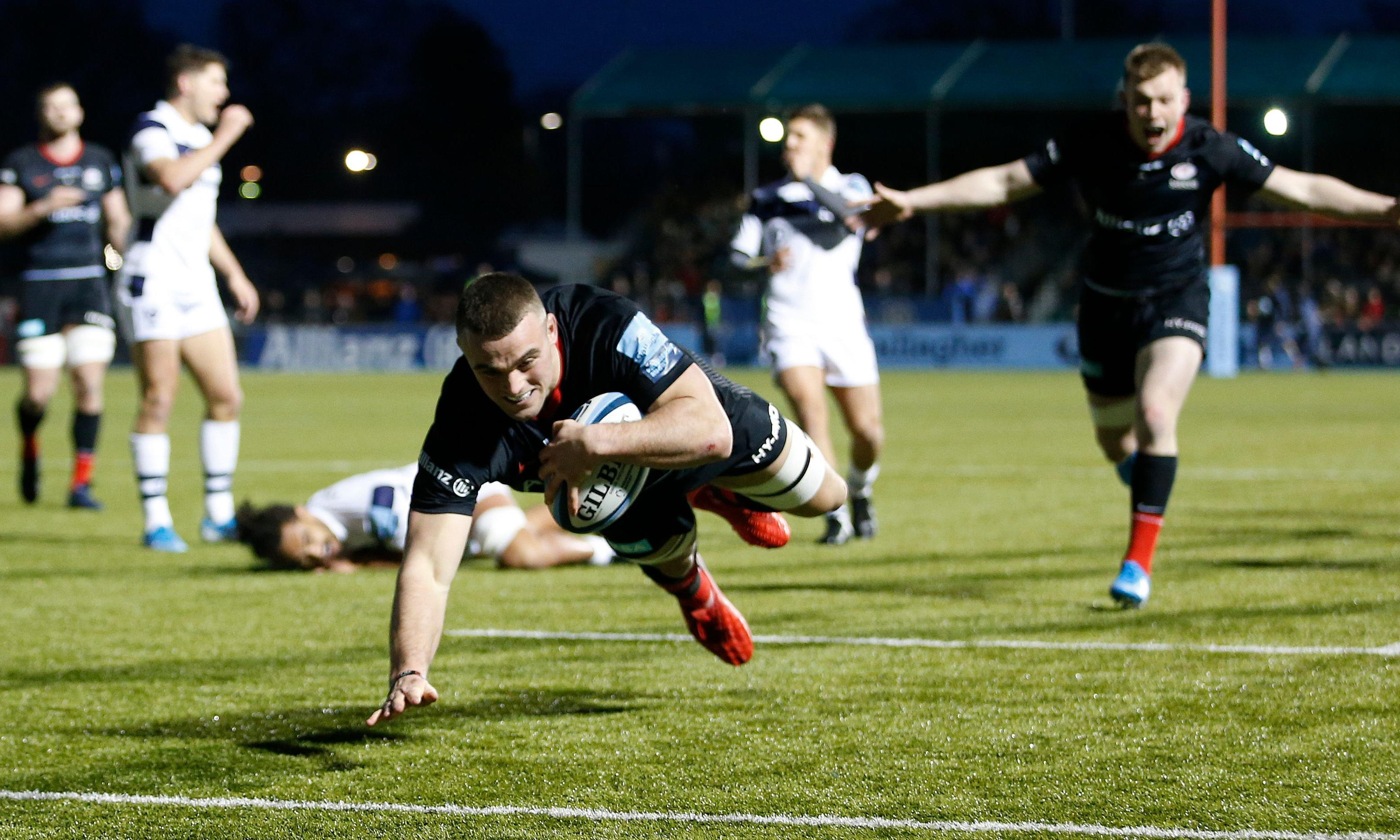 Saracens show their survival instincts by crushing Bristol