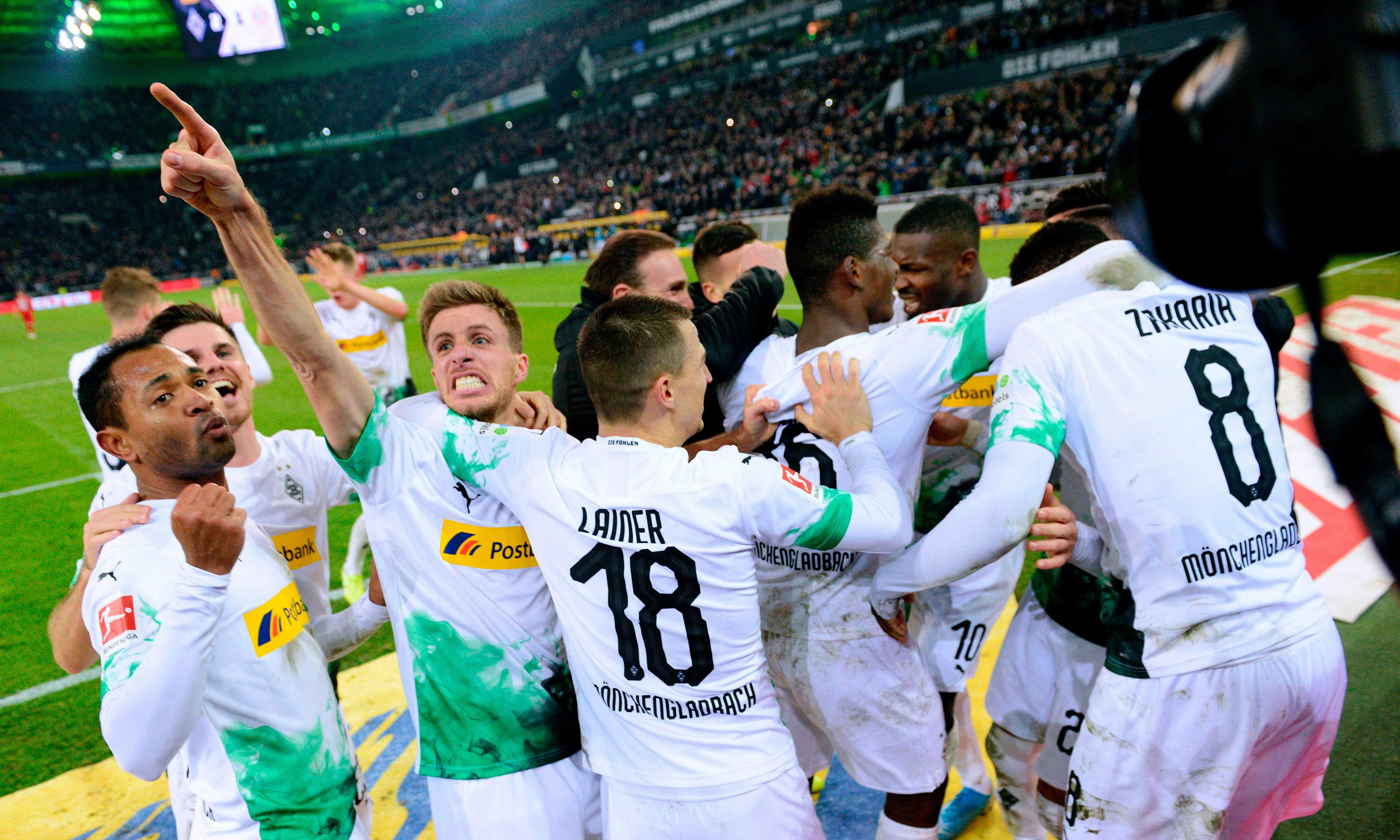 Gladbach dare to believe after stirring win over Bayern in 'real Klassiker'