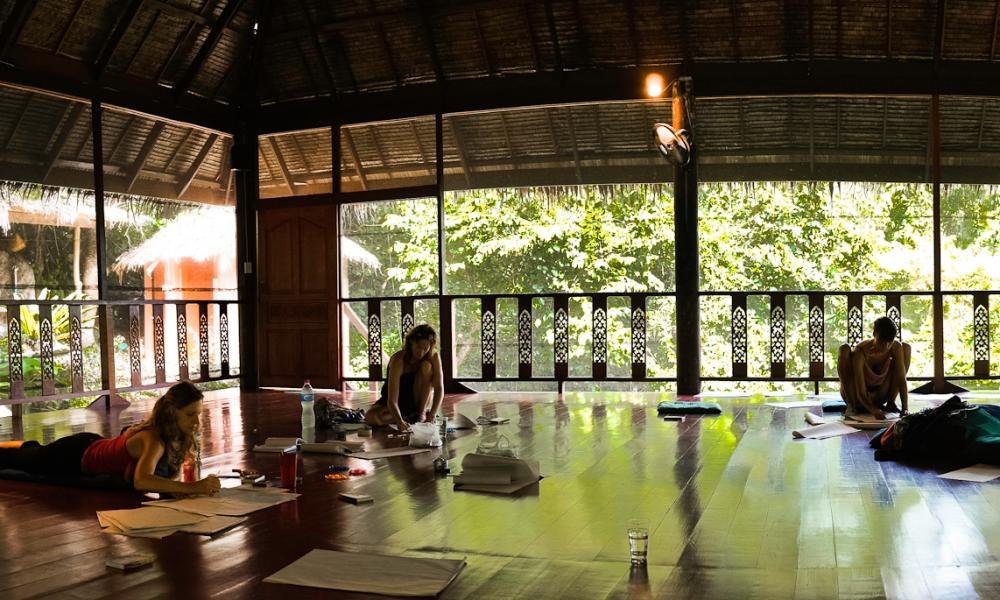 Yoga Holidays at the Sanctuary Thailand, Koh Phangan, Thailand
