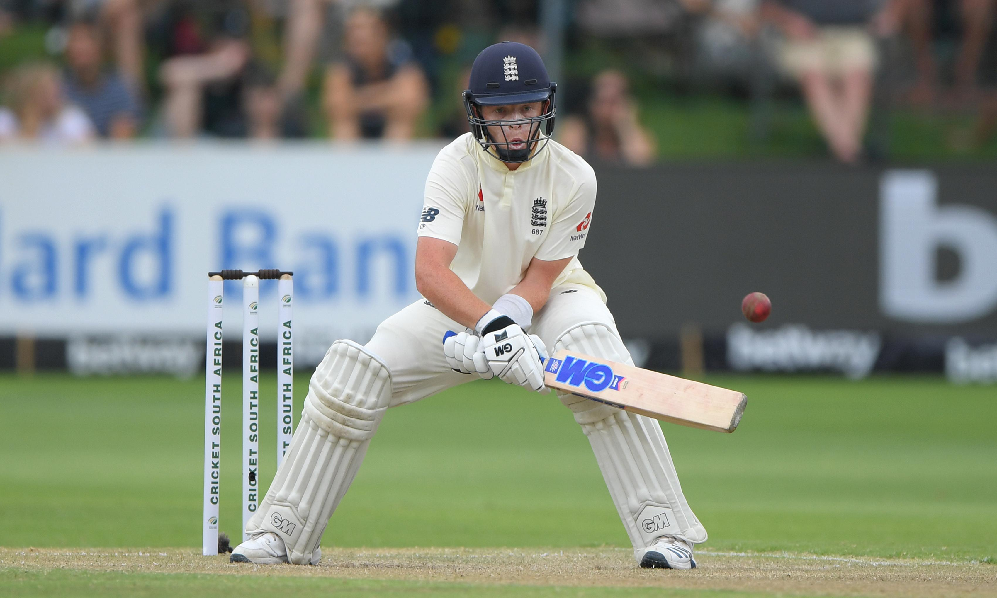 Ollie Pope's assured innings hints at bright future in England middle order