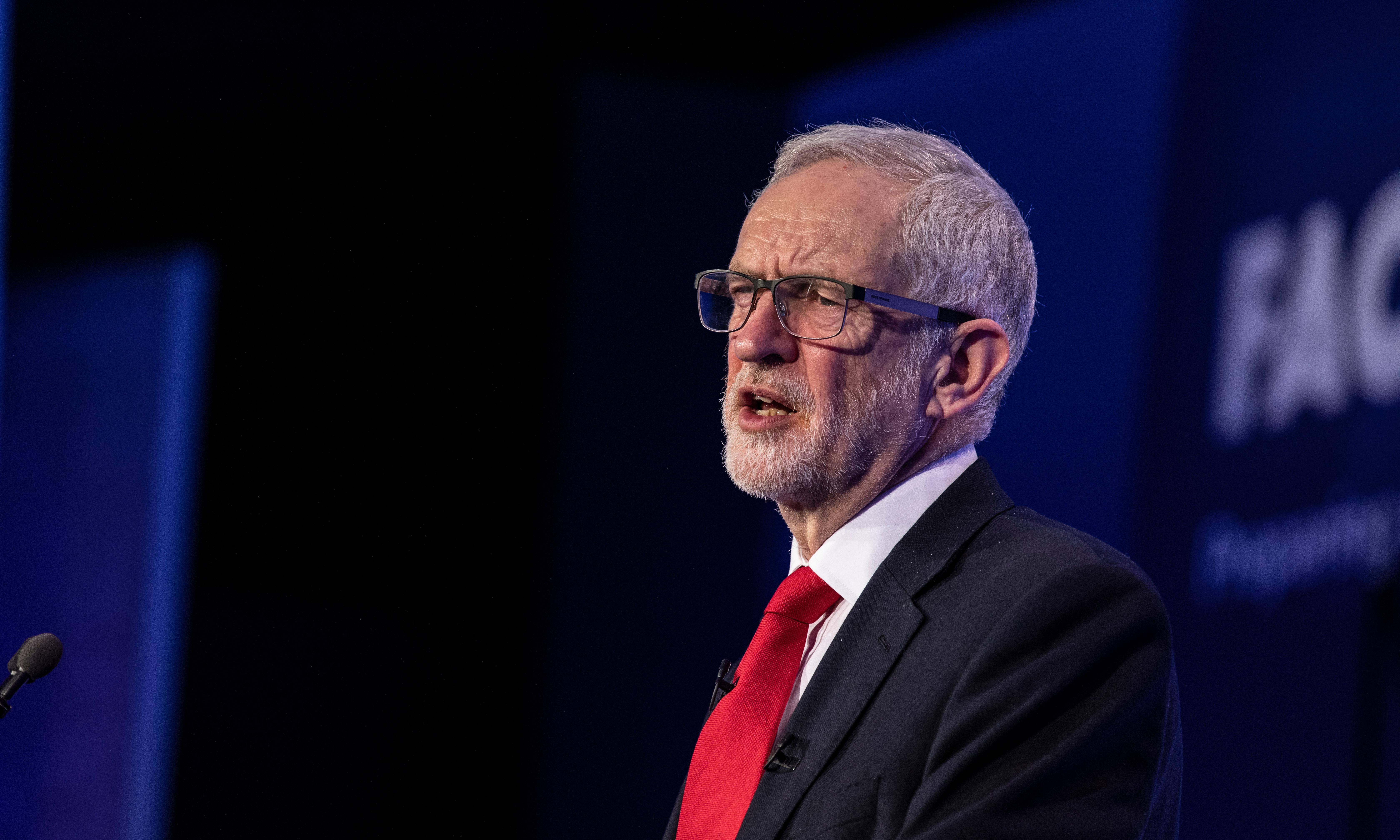 Jeremy Corbyn: MPs who quit were elected on 2017 manifesto