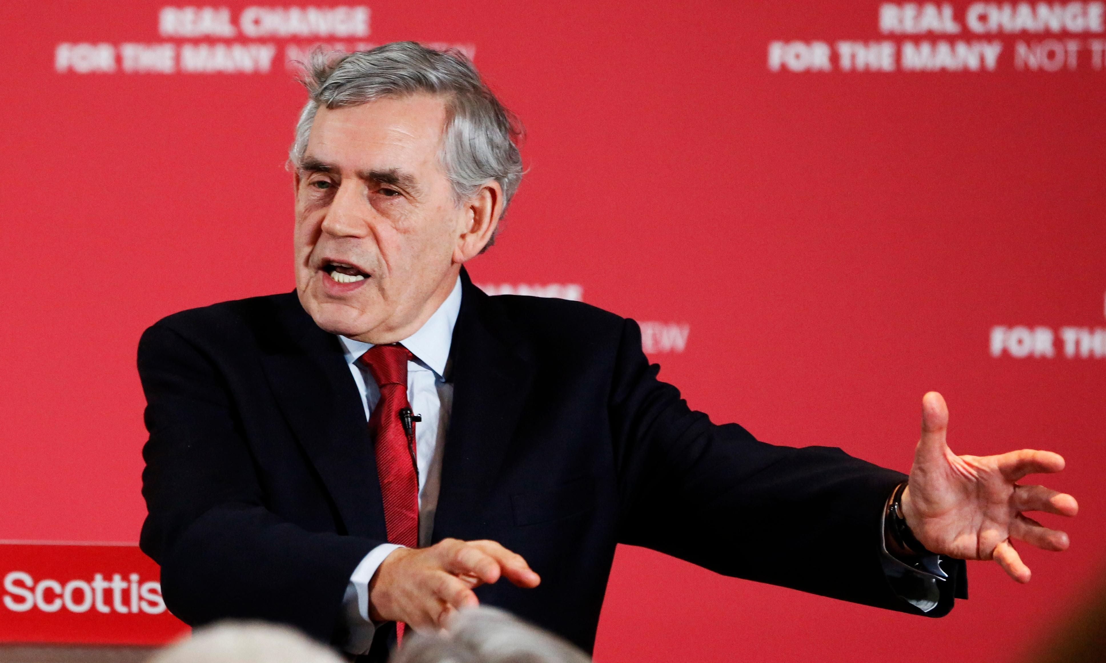 Gordon Brown wants to save Britain. It might be too late for that