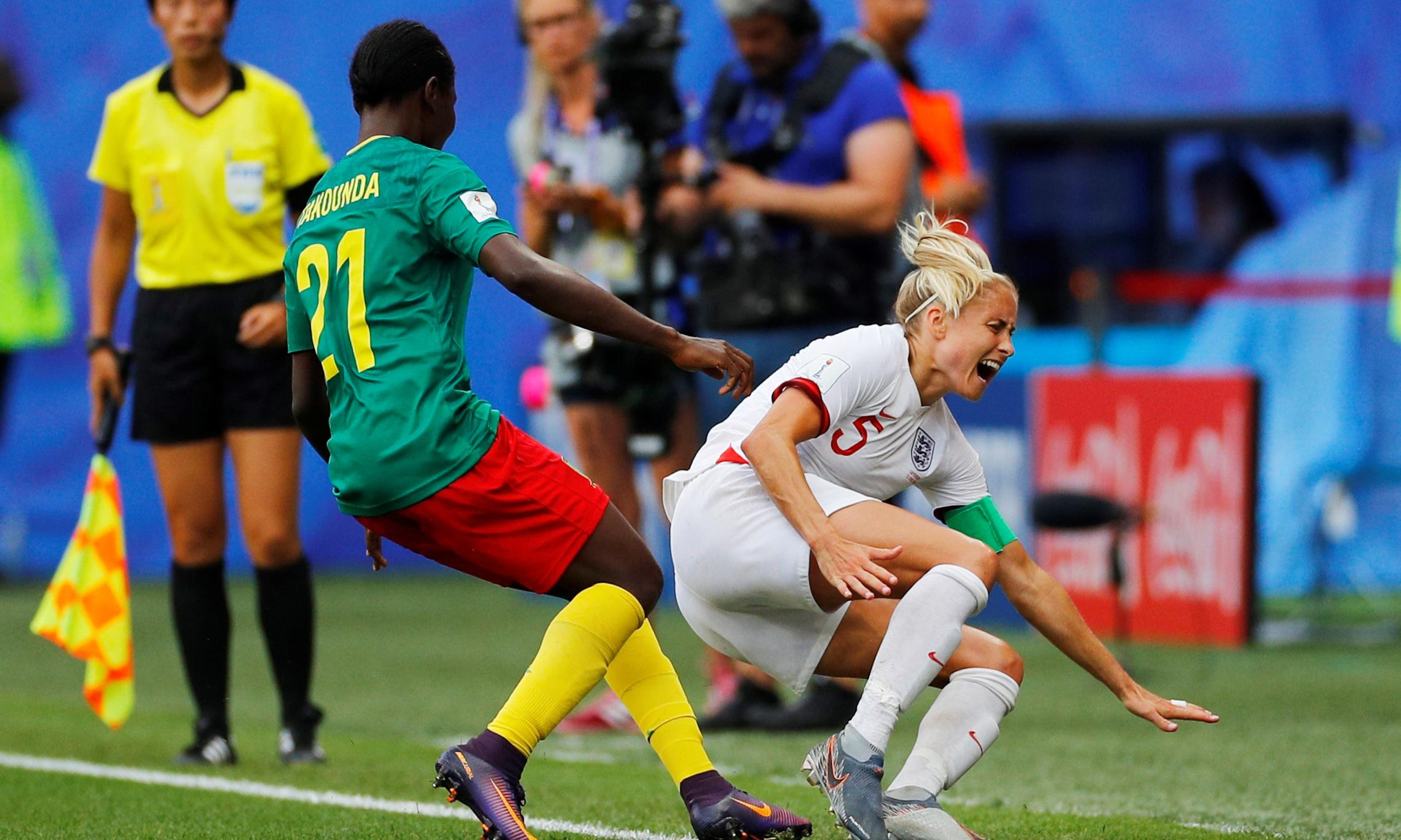 Fifa investigating Cameroon behaviour in World Cup defeat against England