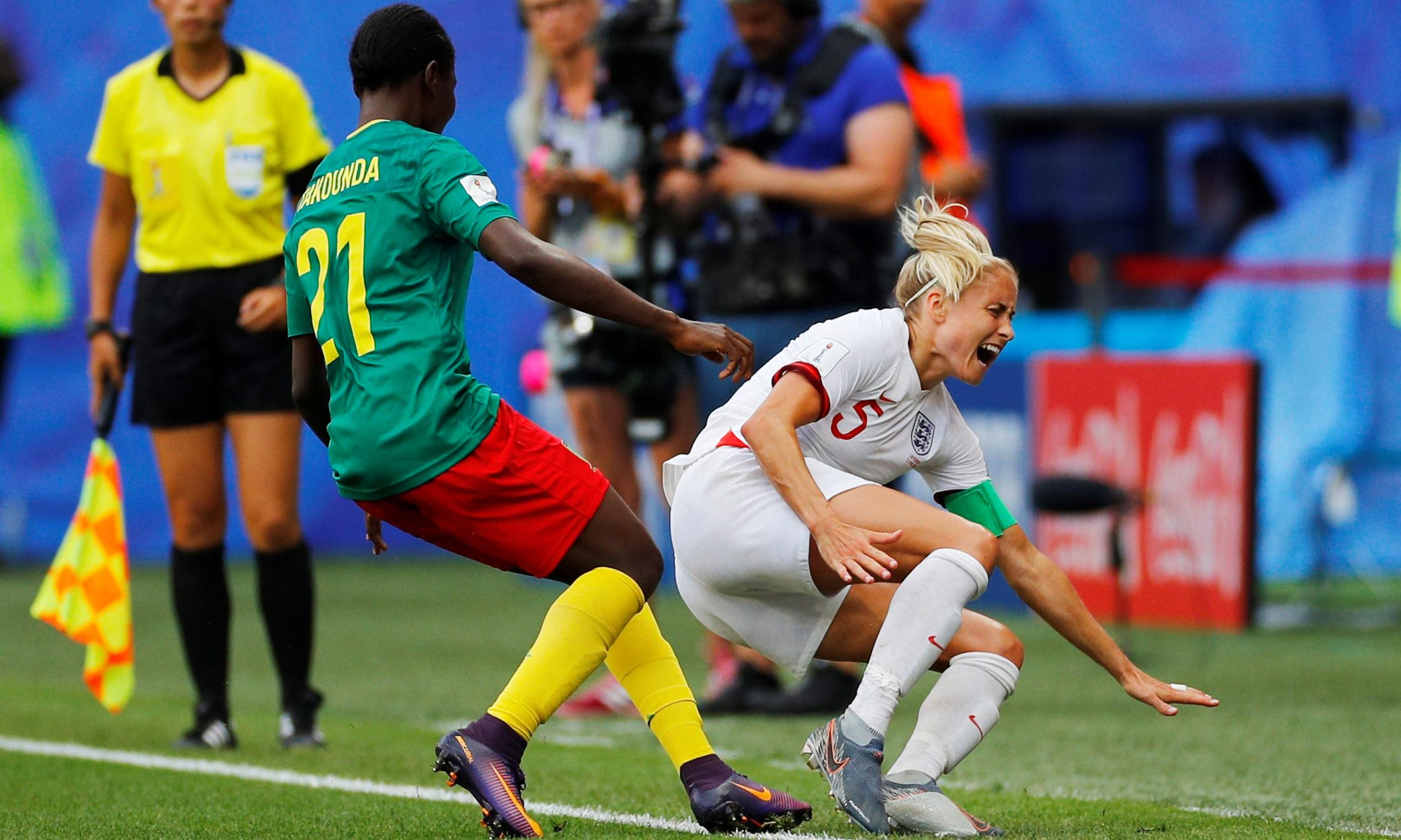 England's refusal to be bullied by Cameroon cannot hide concerns
