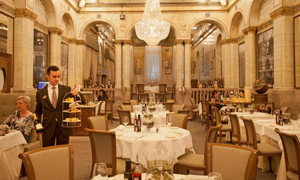Jay Rayner Gold Dining Room