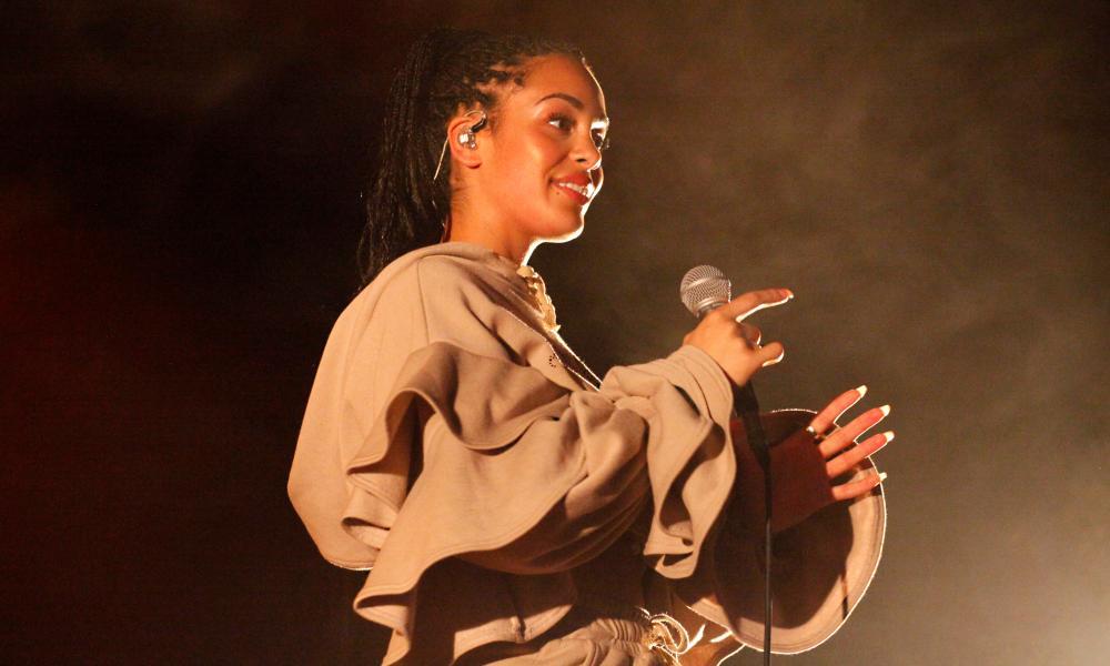 Jorja Smith performing in July 2017.