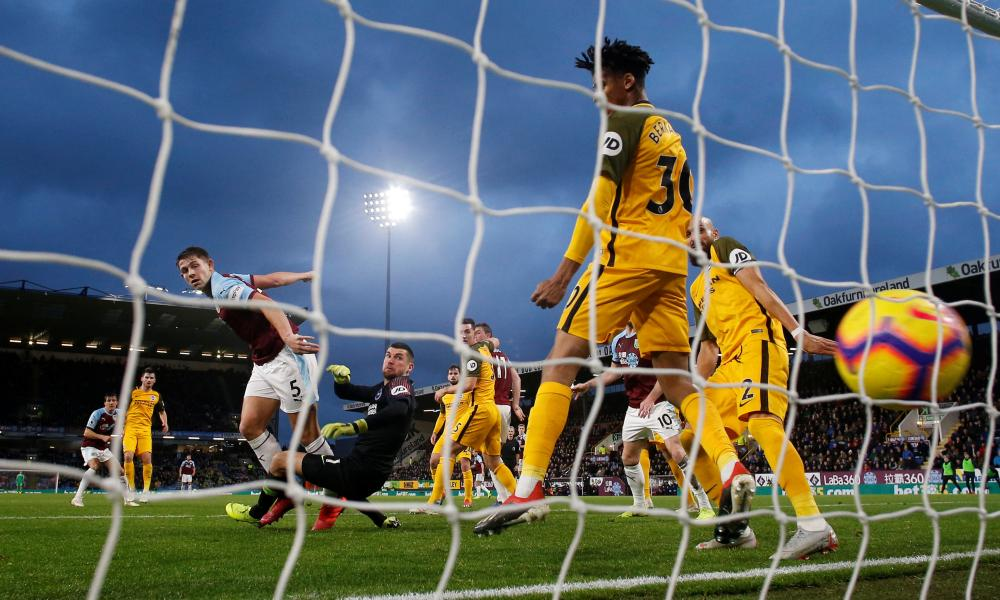 Defeat at Turf Moor in December has sparked a poor run of form for Brighton.