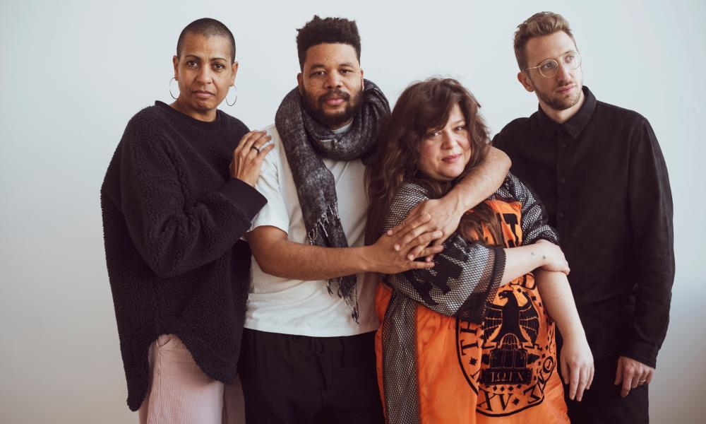 Last year's joint Turner prize winners 2019: (from left) Helen Cammock, Oscar Murillo, Tai Shani and Lawrence Abu Hamdan.