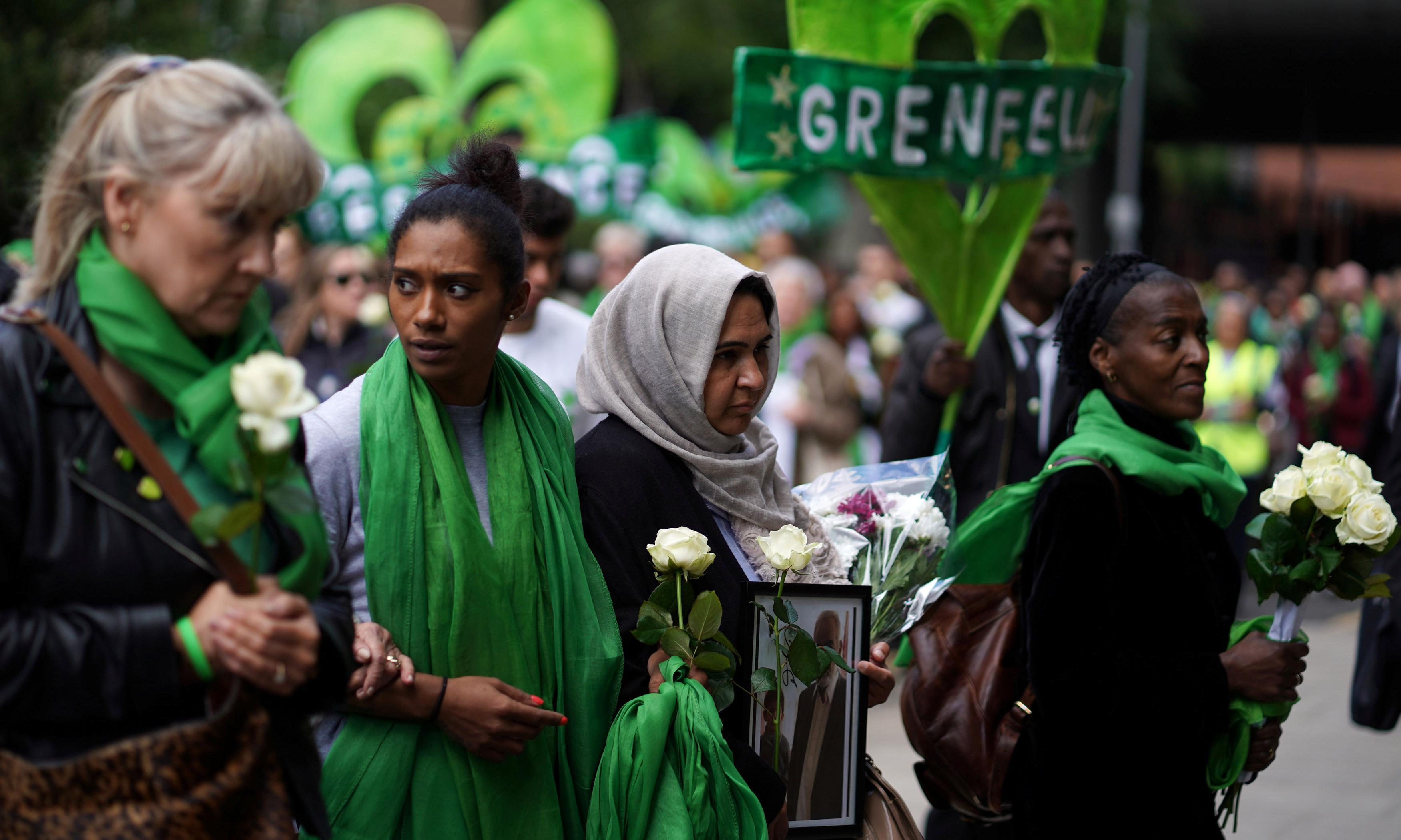 Grief and rage mark second anniversary of Grenfell Tower fire