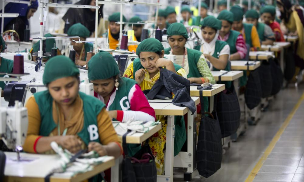 Trainees at a garment factory near Dhaka, Bangladesh, in April.
