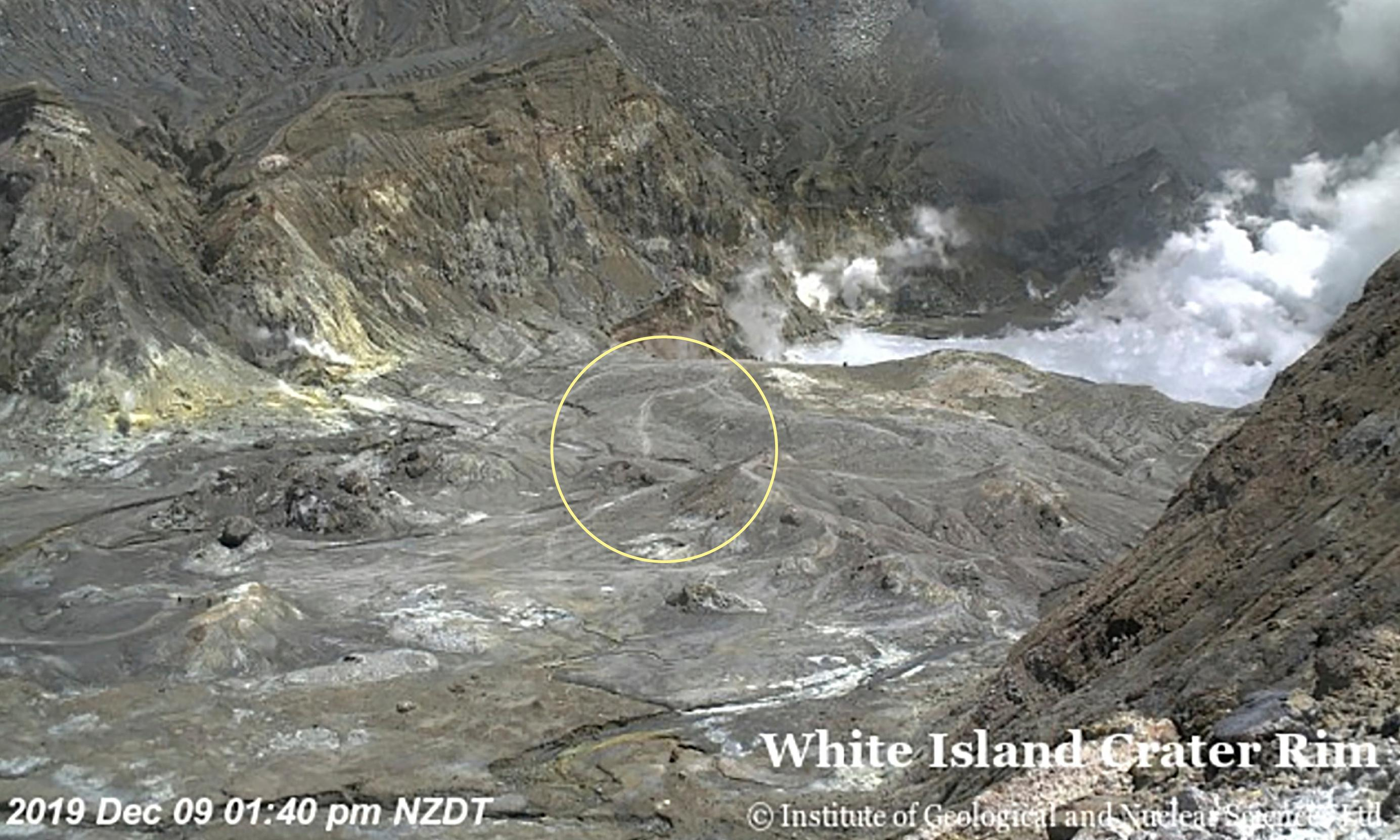 New Zealand volcano: five dead after White Island eruption