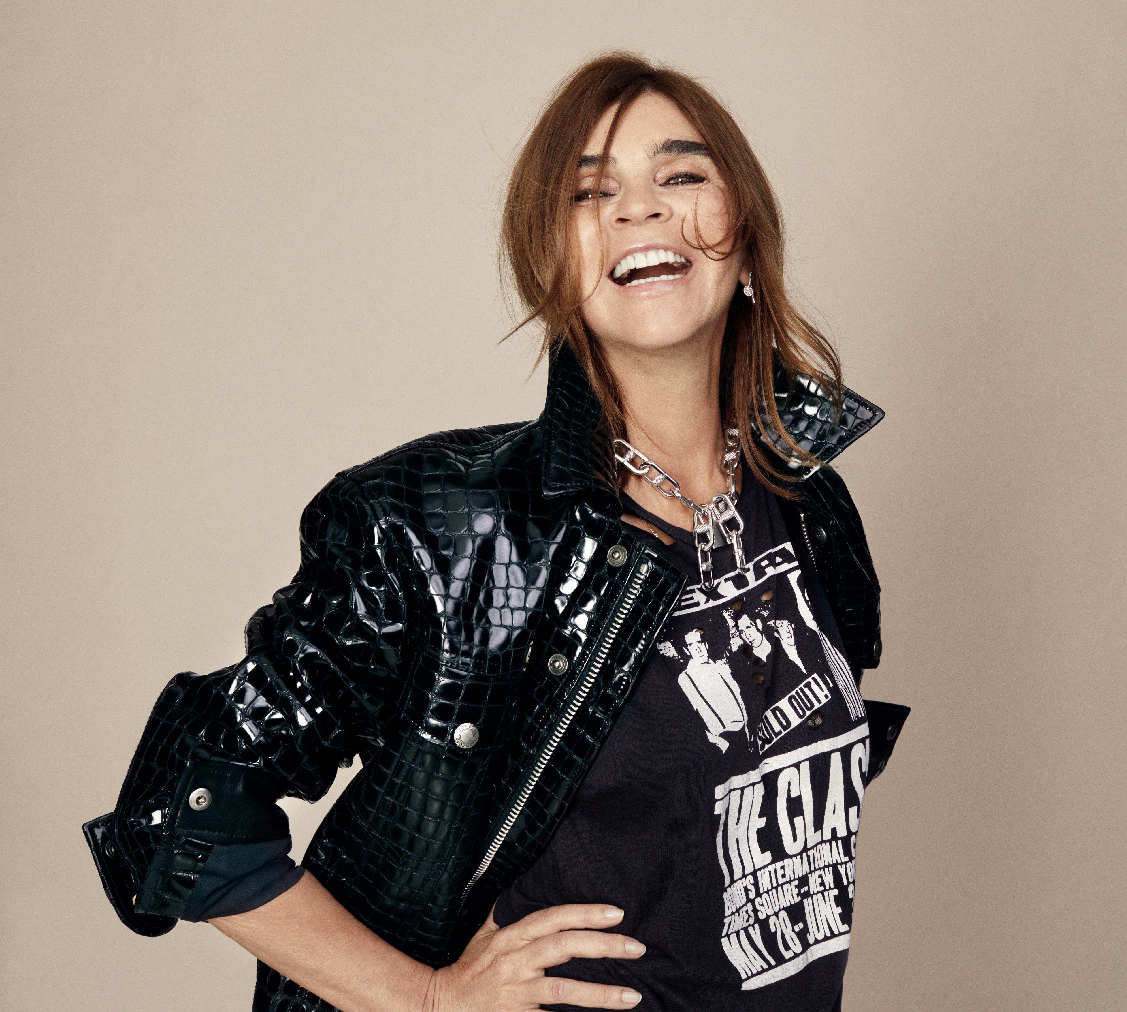 Carine Roitfeld: 'Drink espresso, sleep in your makeup, don't take selfies…'