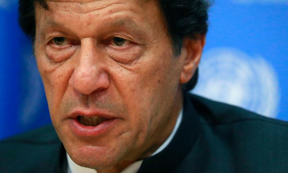 Pakistan's Prime Minister Imran Kahn.