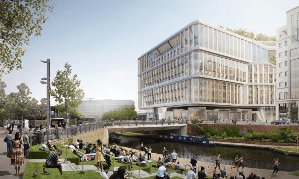 On the waterfront … how Google's HQ at King's Cross will look.