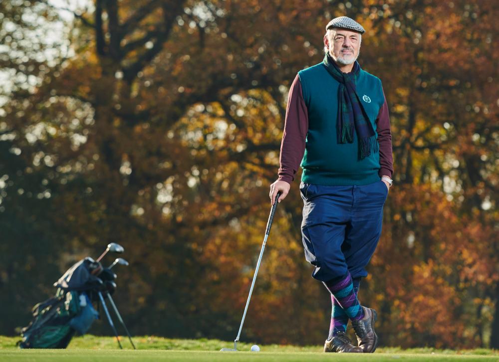 Martin Sumpton, a member of Wimbledon Park Golf Club