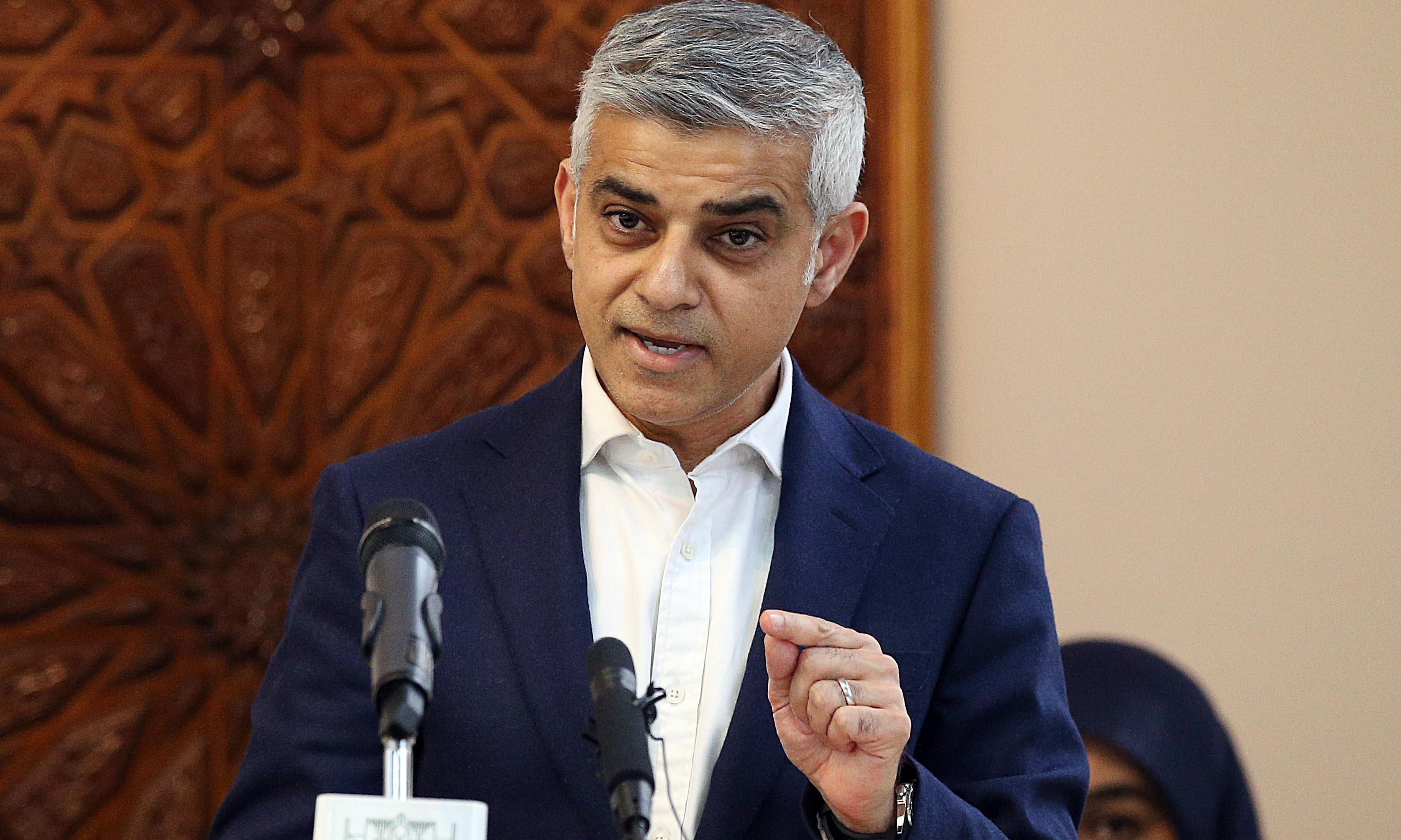 Sadiq Khan calls for new powers to impose London rent controls