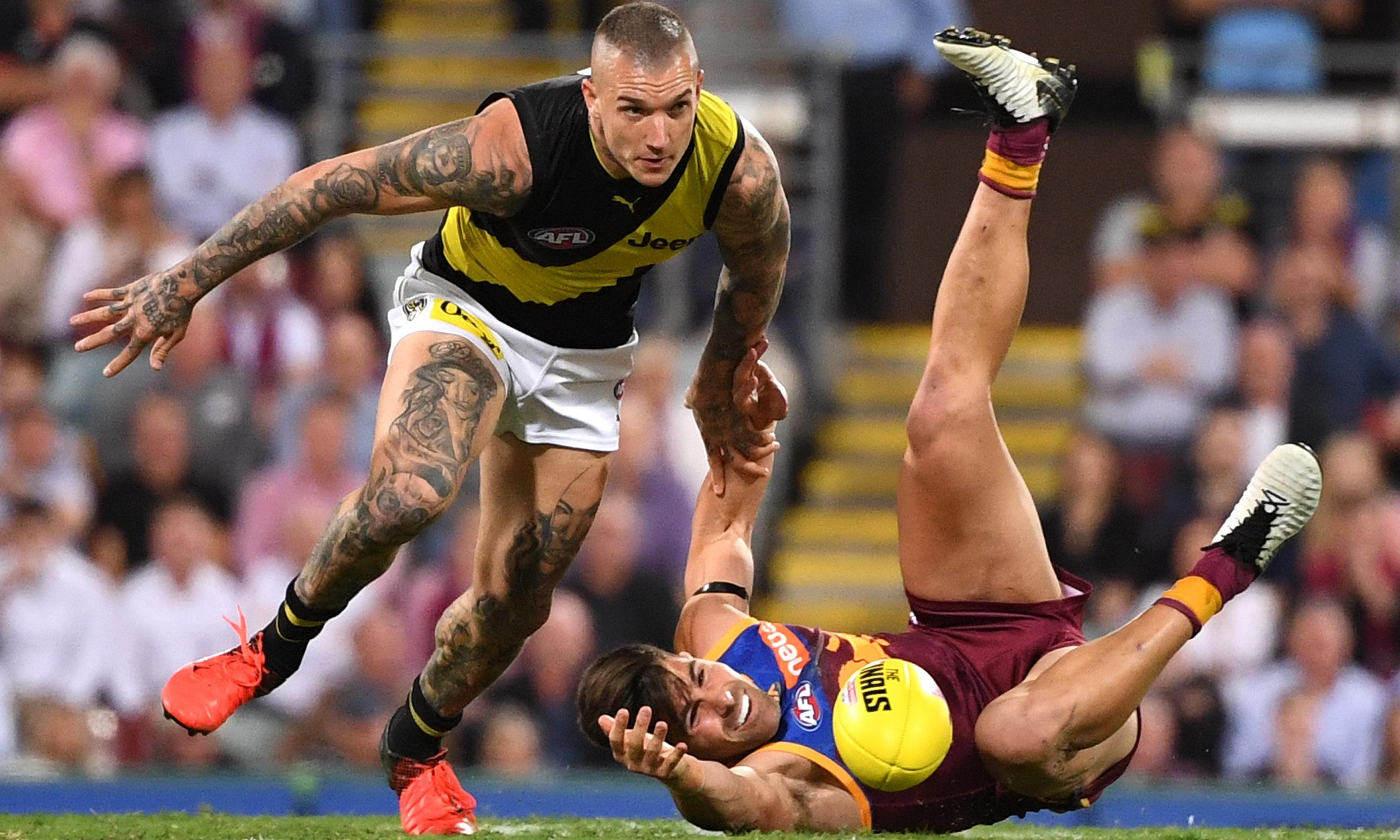 Dustin Martin dominates the opening round of AFL finals