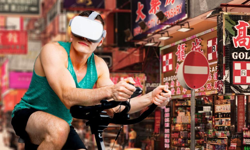 VZFit VR for exercise bikes.