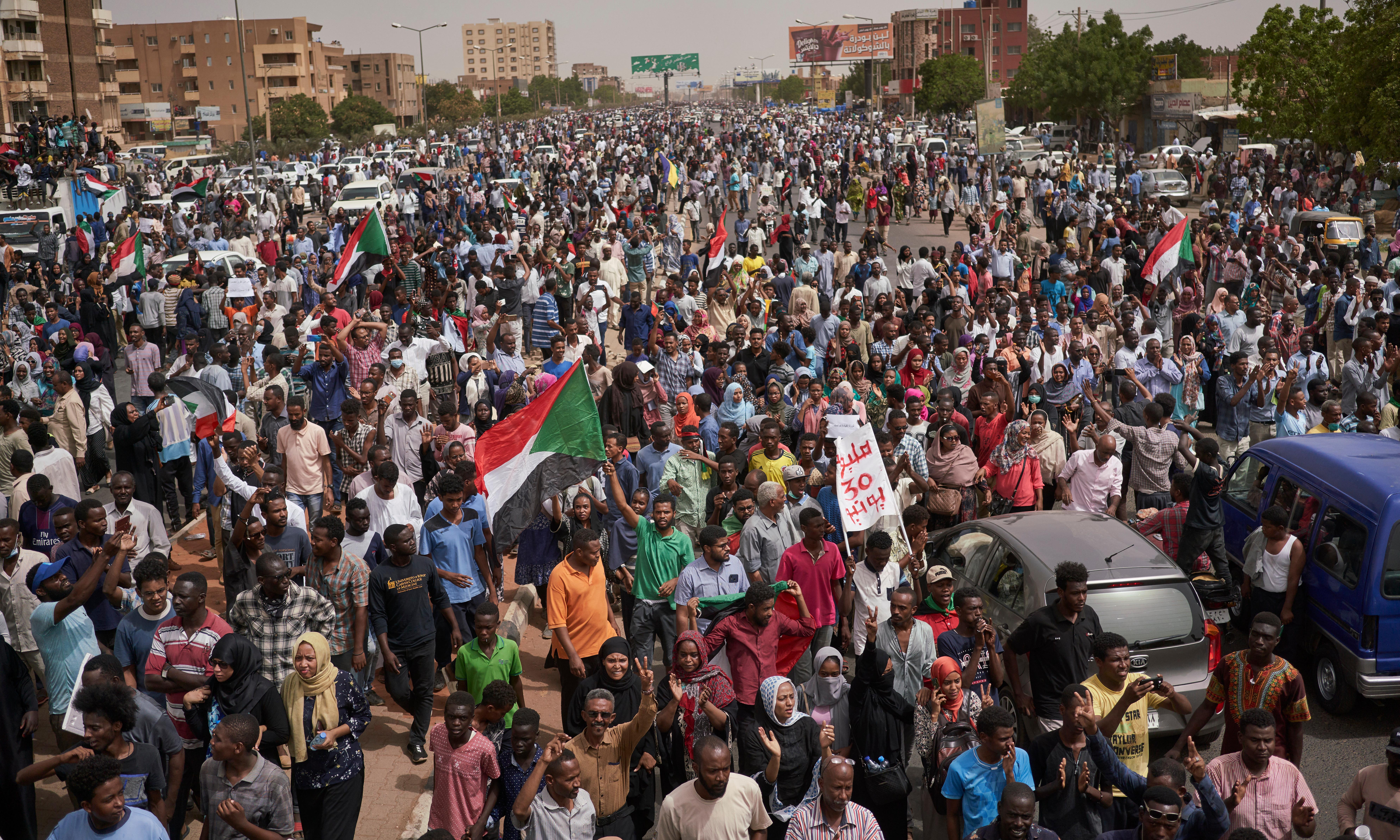Sudan's military leaders accused of ordering massacre