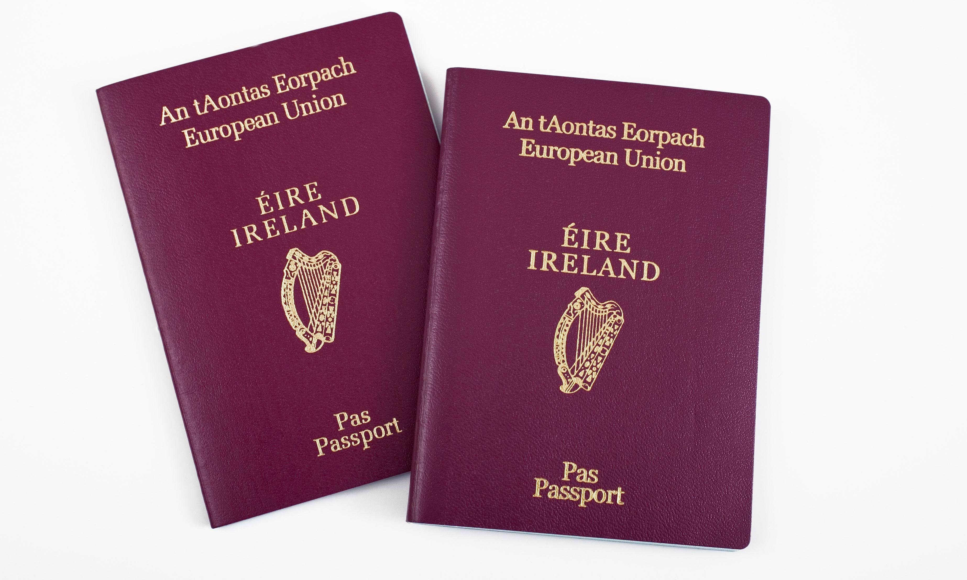 Sharp rise in Britons making applications for Irish passports