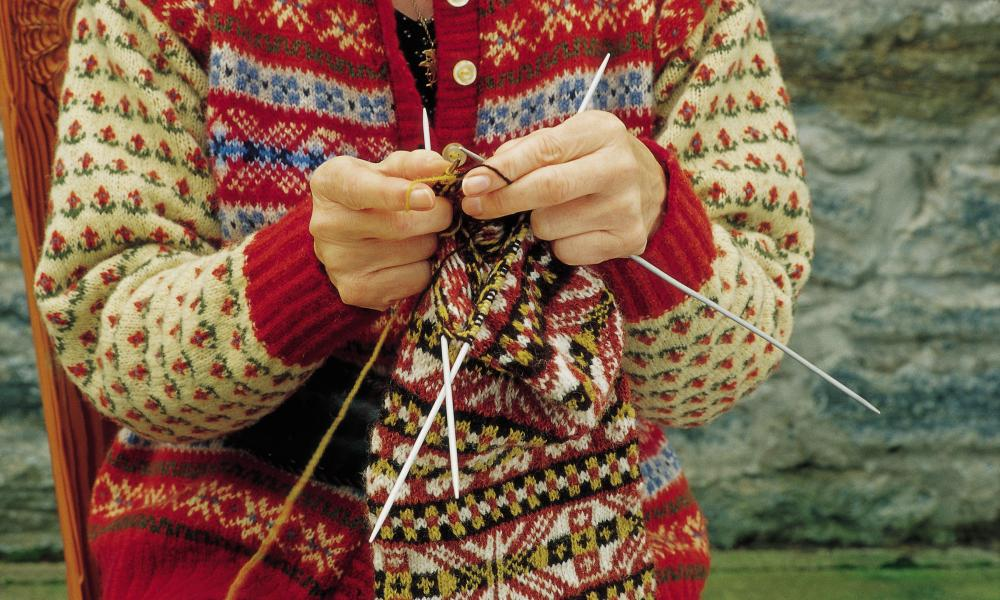 Knitting holiday Shetland