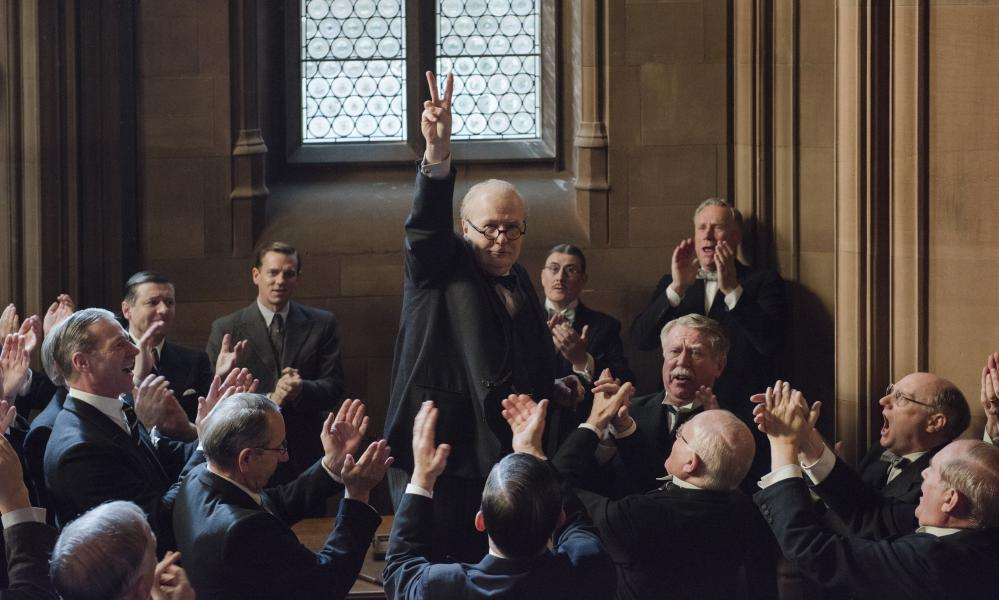 'It's interesting for a film to remind us that appeasement as an issue did not vanish the moment that Winston Churchill took over as Prime Minister' l... Darkest Hour.