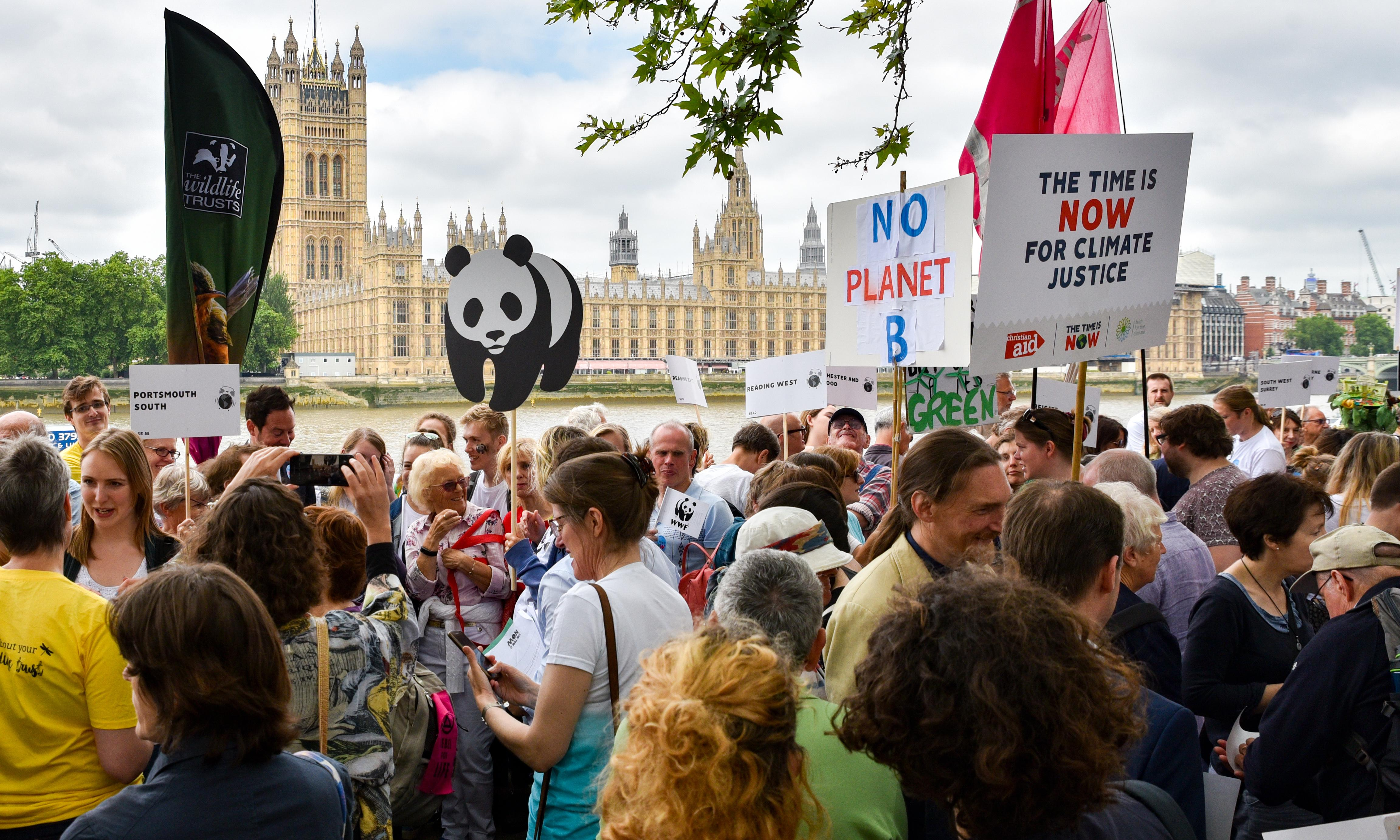 Time Is Now thousands march in London for urgent climate action