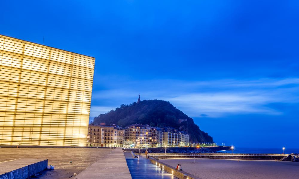The Kursaal Congress Centre and Auditorium, San Sebastian, Spain.
