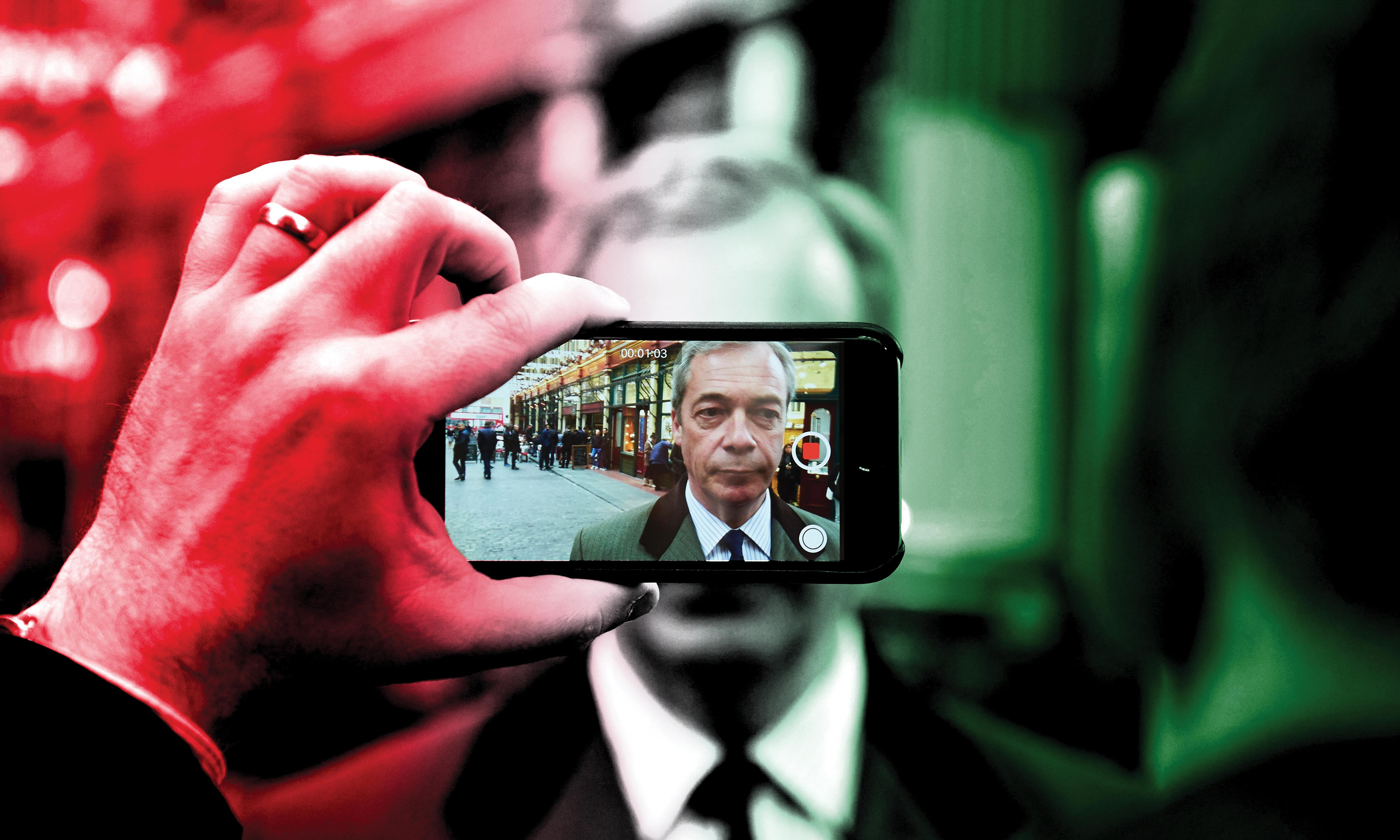 Building the Brexit party: how Nigel Farage copied Italy's digital populists