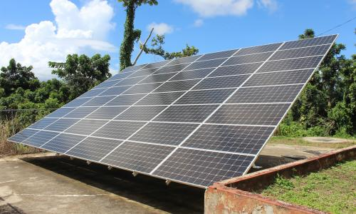 'We want sun': the battle for solar power in Puerto Rico