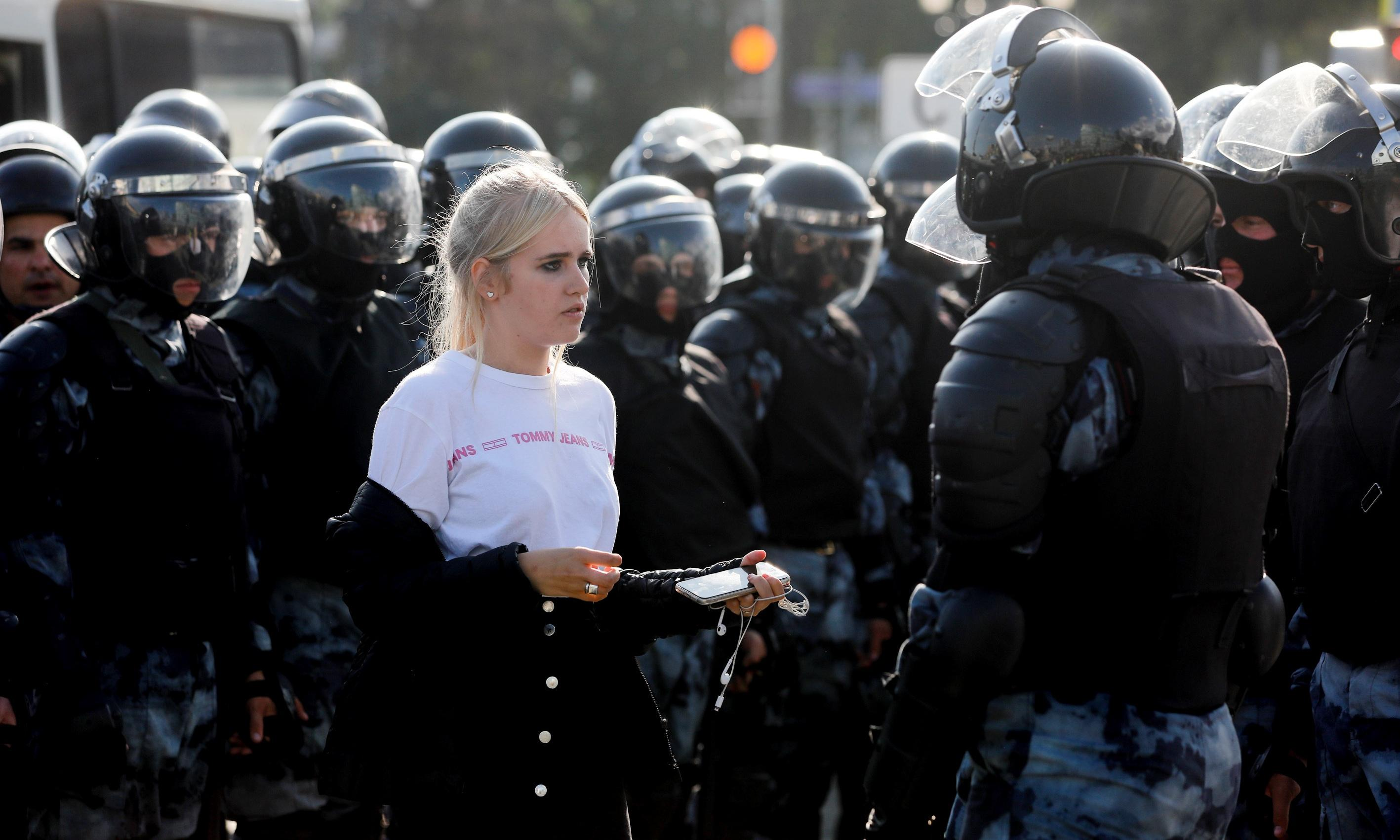 Moscow's peaceful protests enrage the Kremlin because its only tool is violence