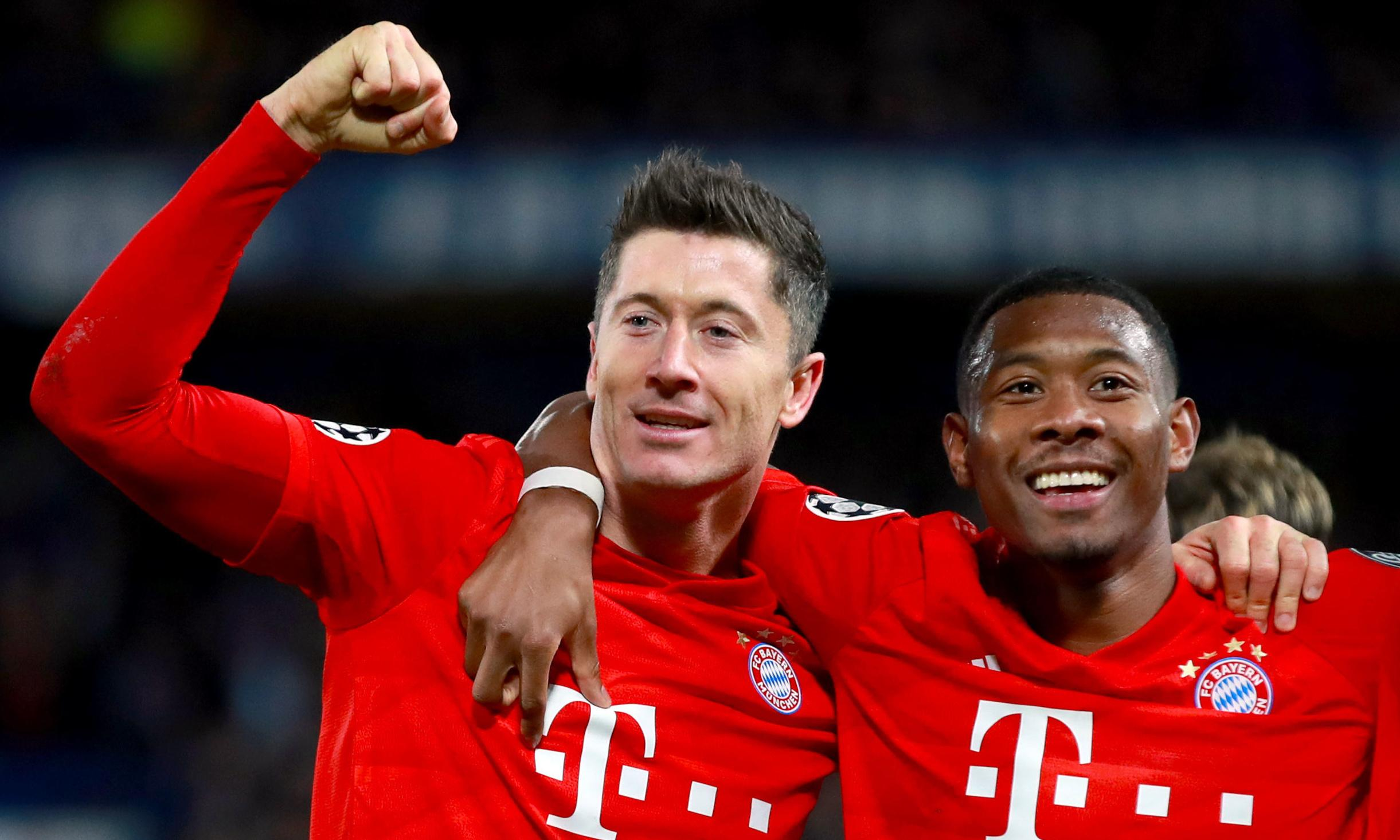 Lewandowski in same class as Messi and Ronaldo, says Bayern's Alaba