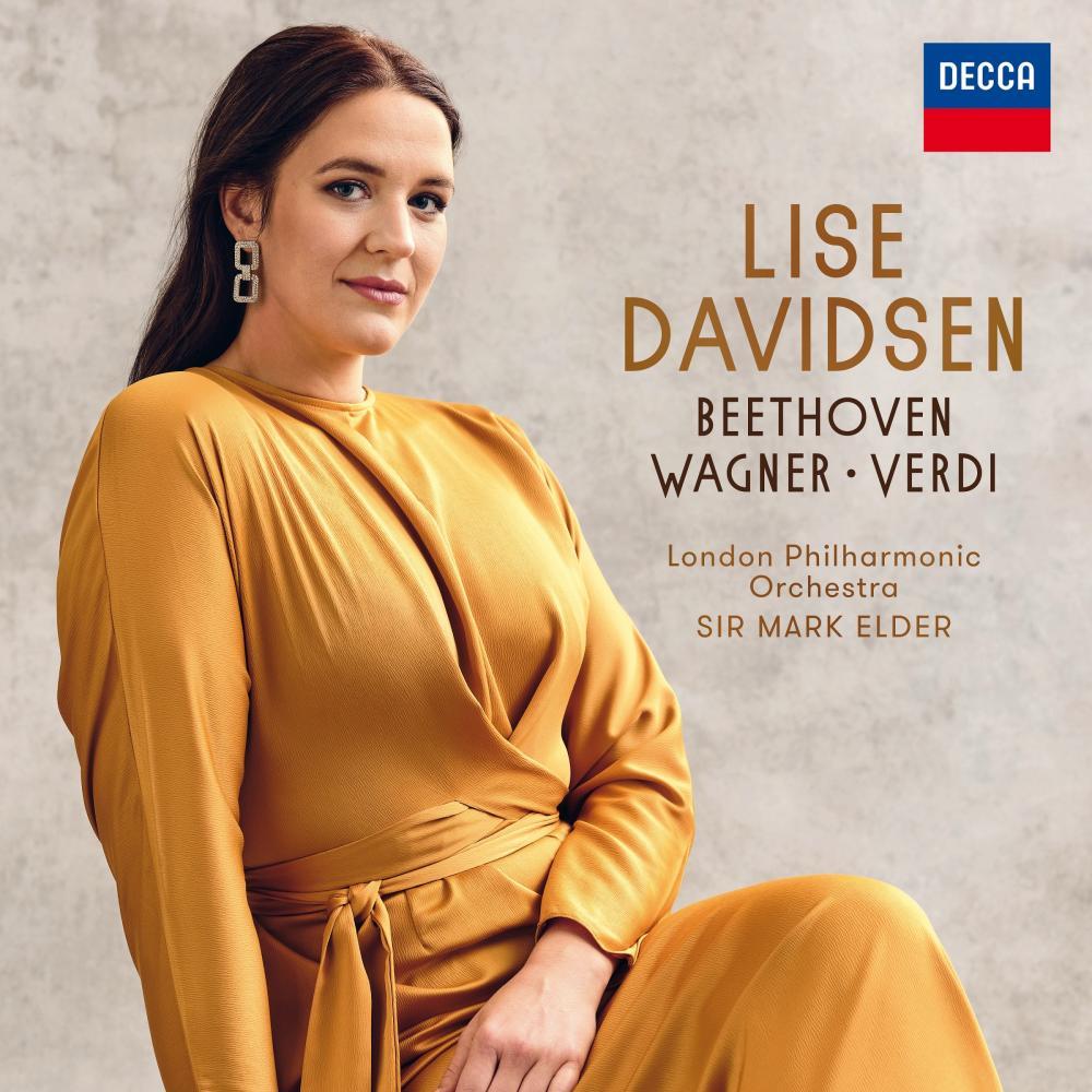 Lise Davidsen: Beethoven, Wagner, Verdi album cover