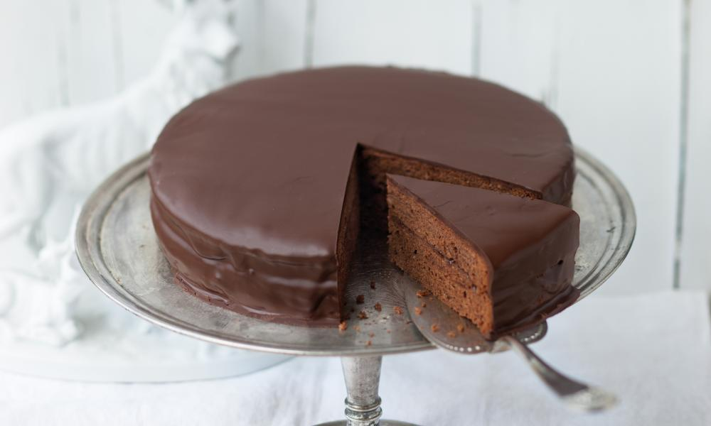 Slice of life: Sachertorte.