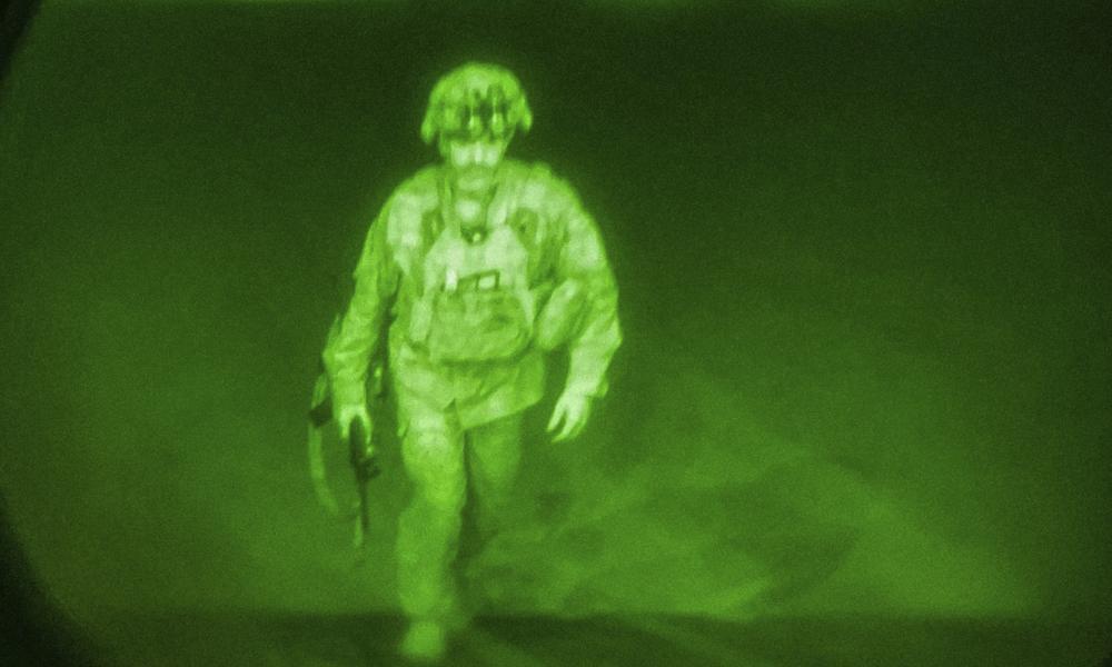 The last American soldier leaves Afghanistan
