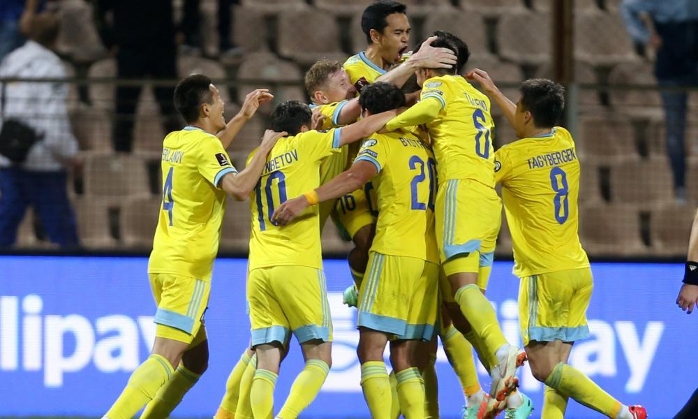 Kazakhstan celebrate.