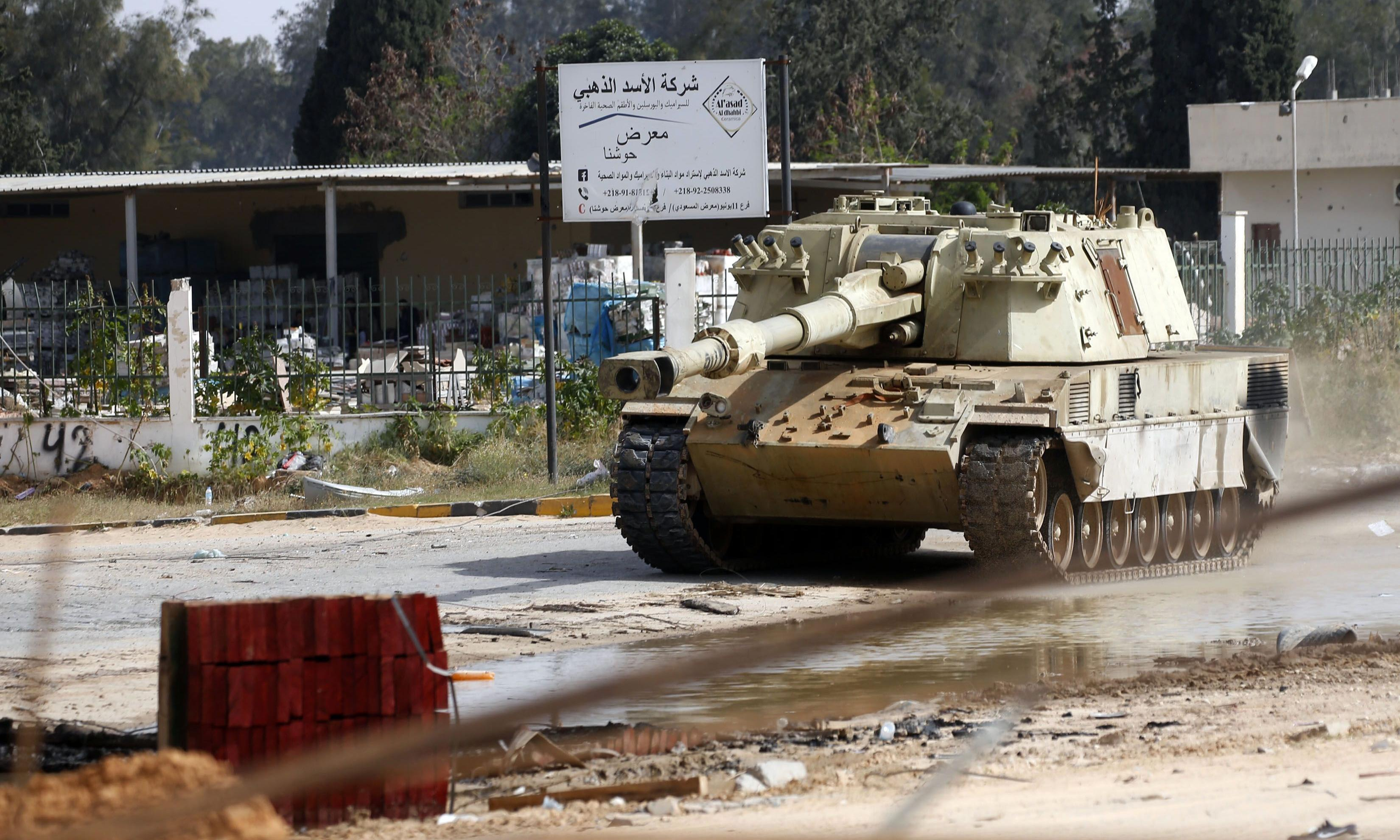 Libya: EU officials hope Trump will pull support for Haftar