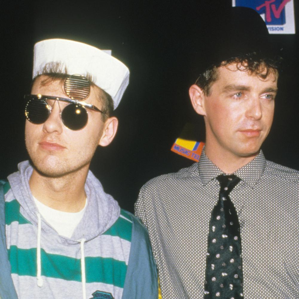 The Pet Shop Boys in 1986.