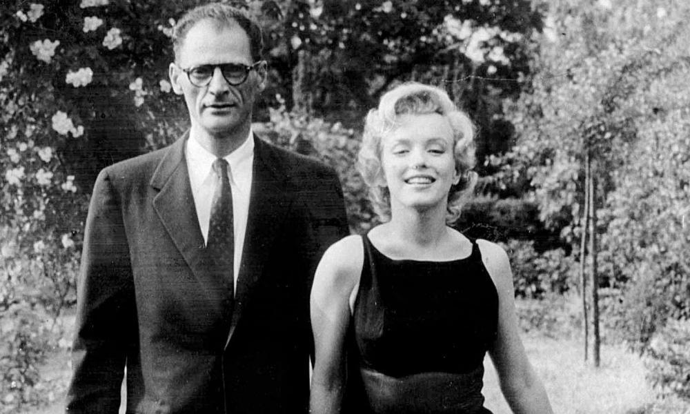 Arthur Miller and Marilyn Monroe in 1961.